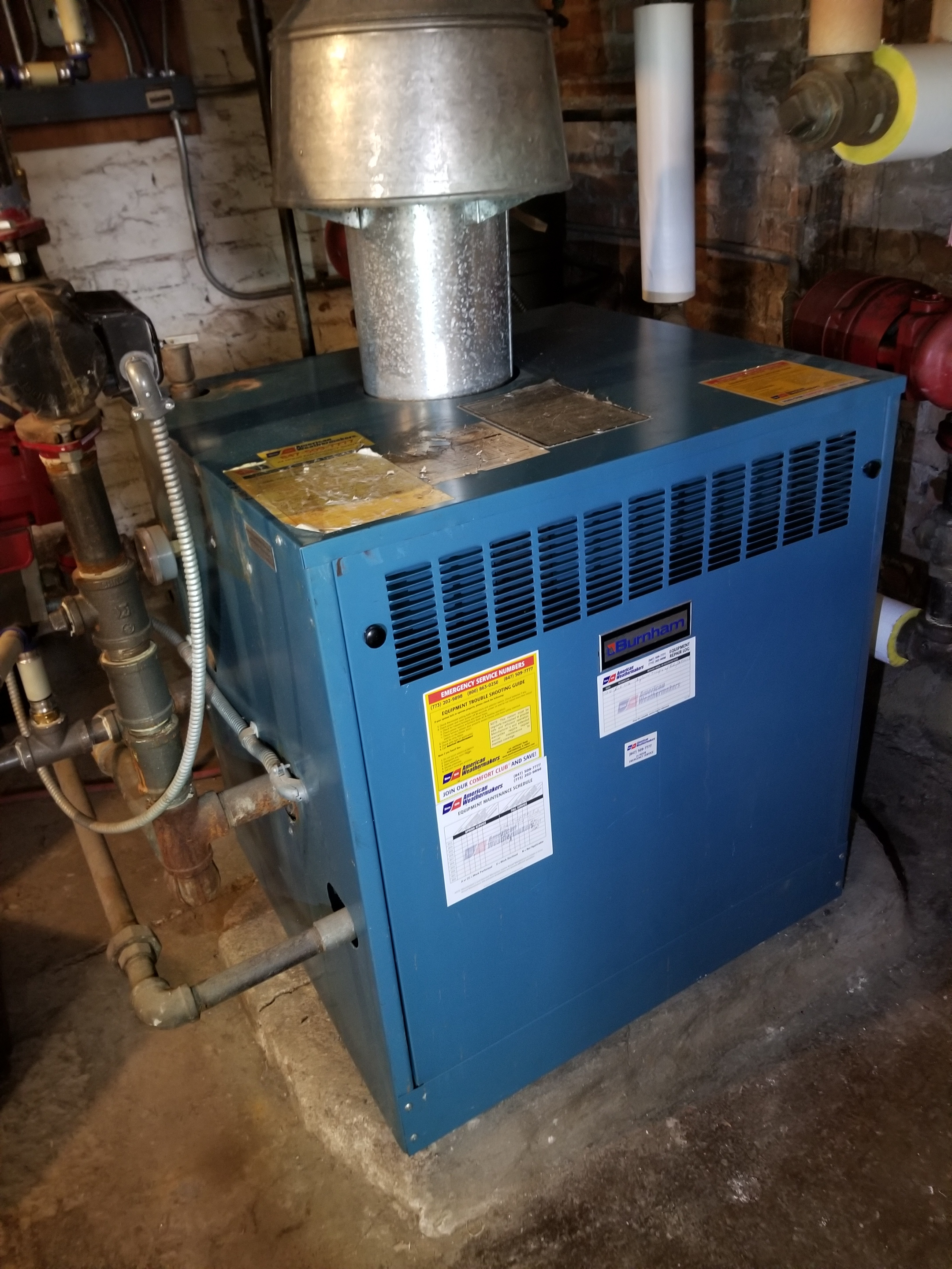 Performed annual maintenance on the Burnham boiler and made adjustments to improve the overall efficiency and life expectancy of the equipment