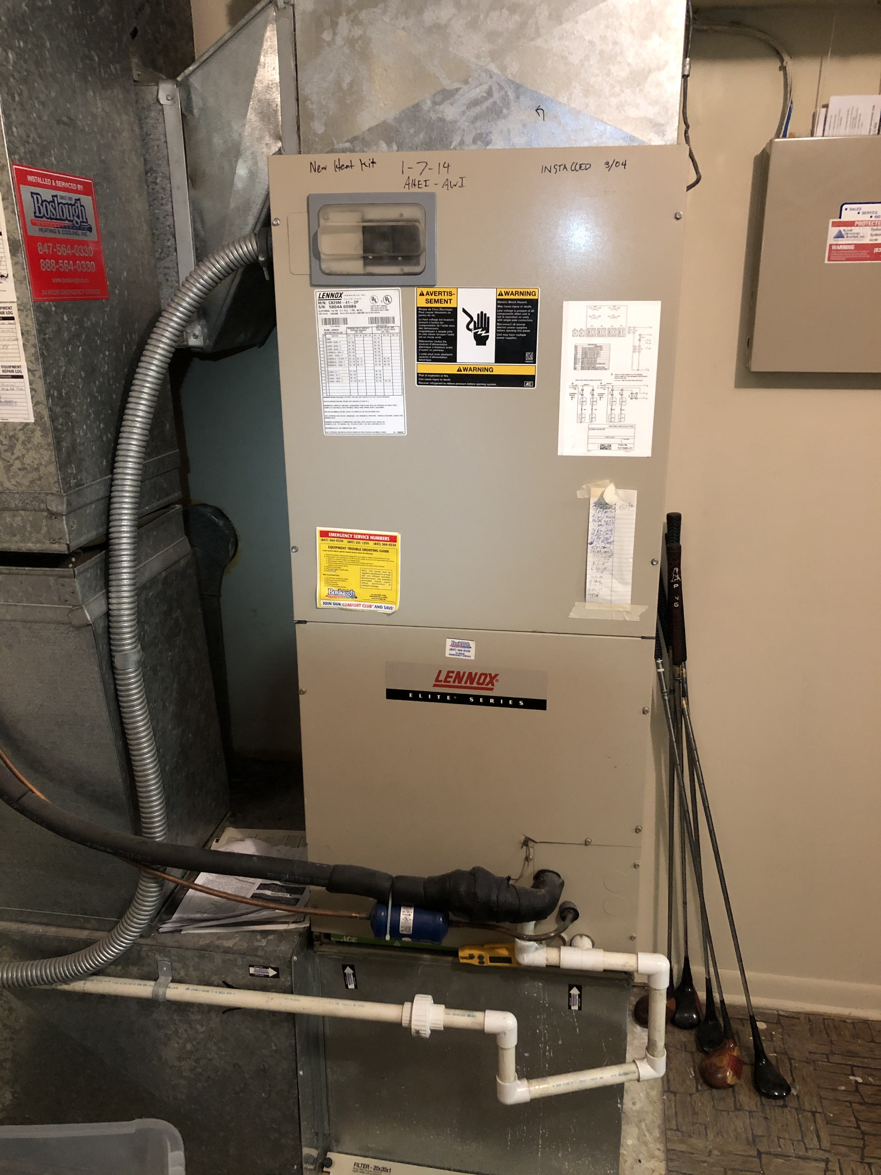 Do you have to clean electric furnaces? Yes you do. This is an appliance that uses the most energy in a home, more than the air conditioner or oven. There are motors that need oiling, safeties that need testing and a sequence of operation that must be followed so no problems occur when they need it most.