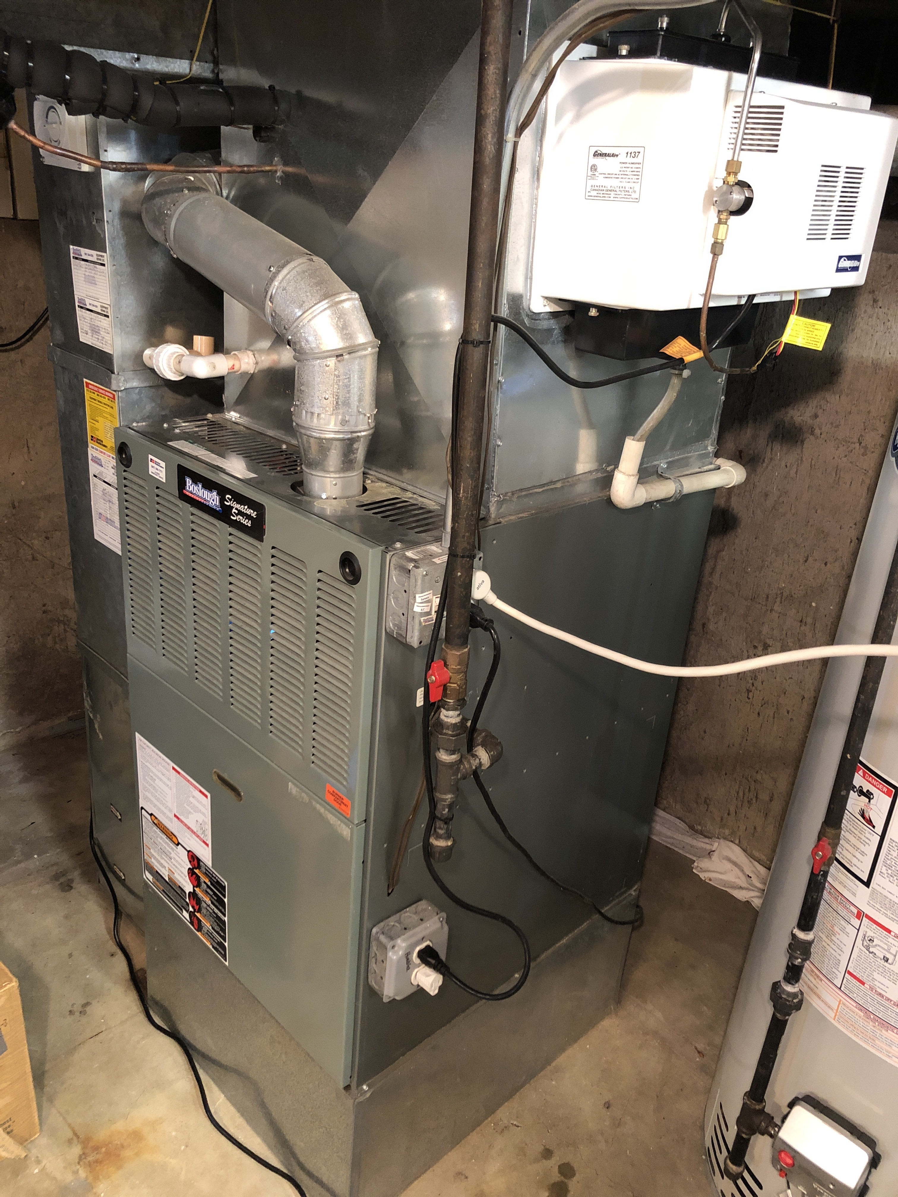 Provided club customer with annual preventative maintenance on furnace. Took measures to ensure the life expectancy of the furnace