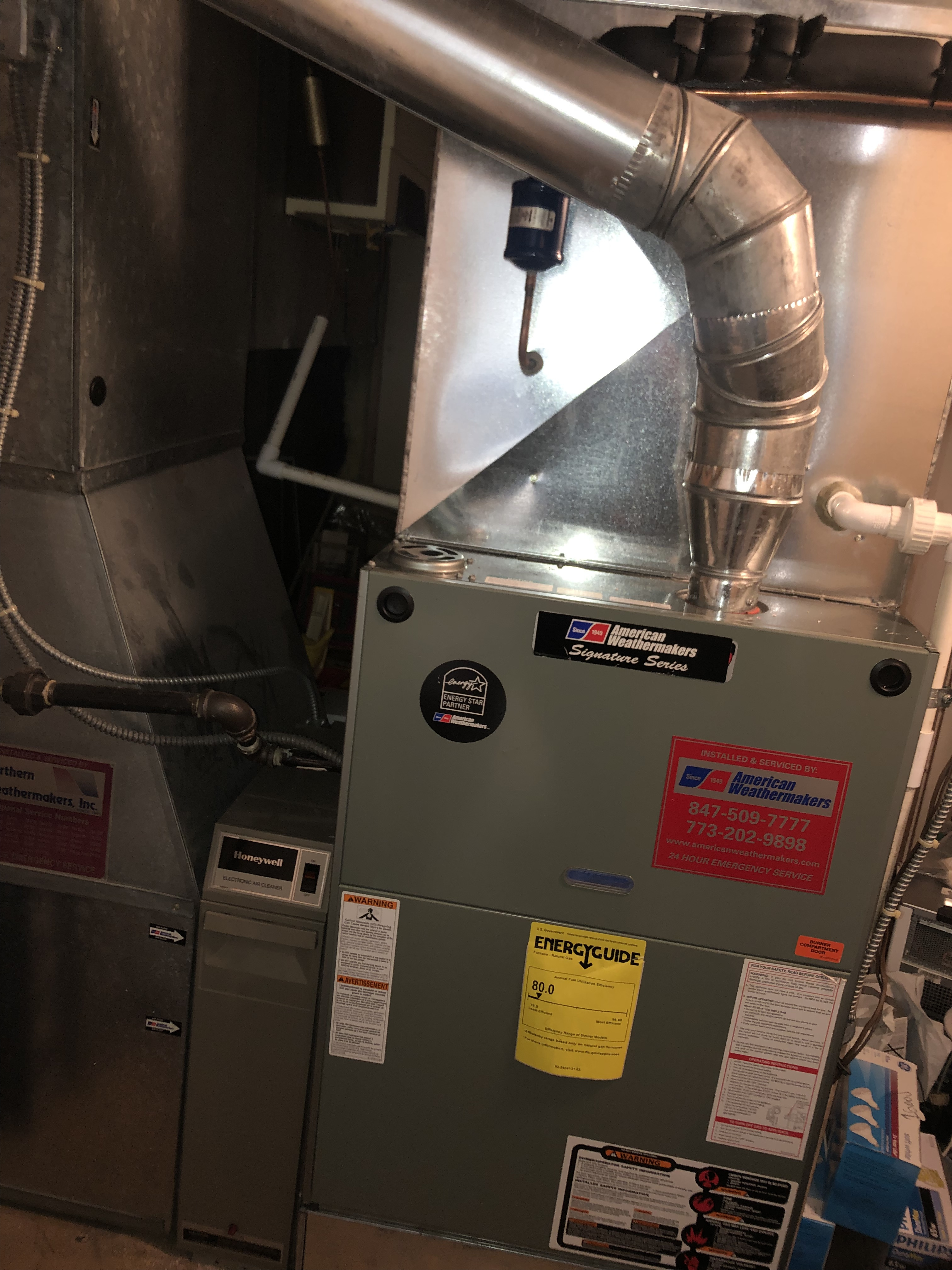 Provided club customer with annual preventative maintenance on 3 furnaces and a humidifier and took measures to ensure that the equipment has a lasting life expectancy.