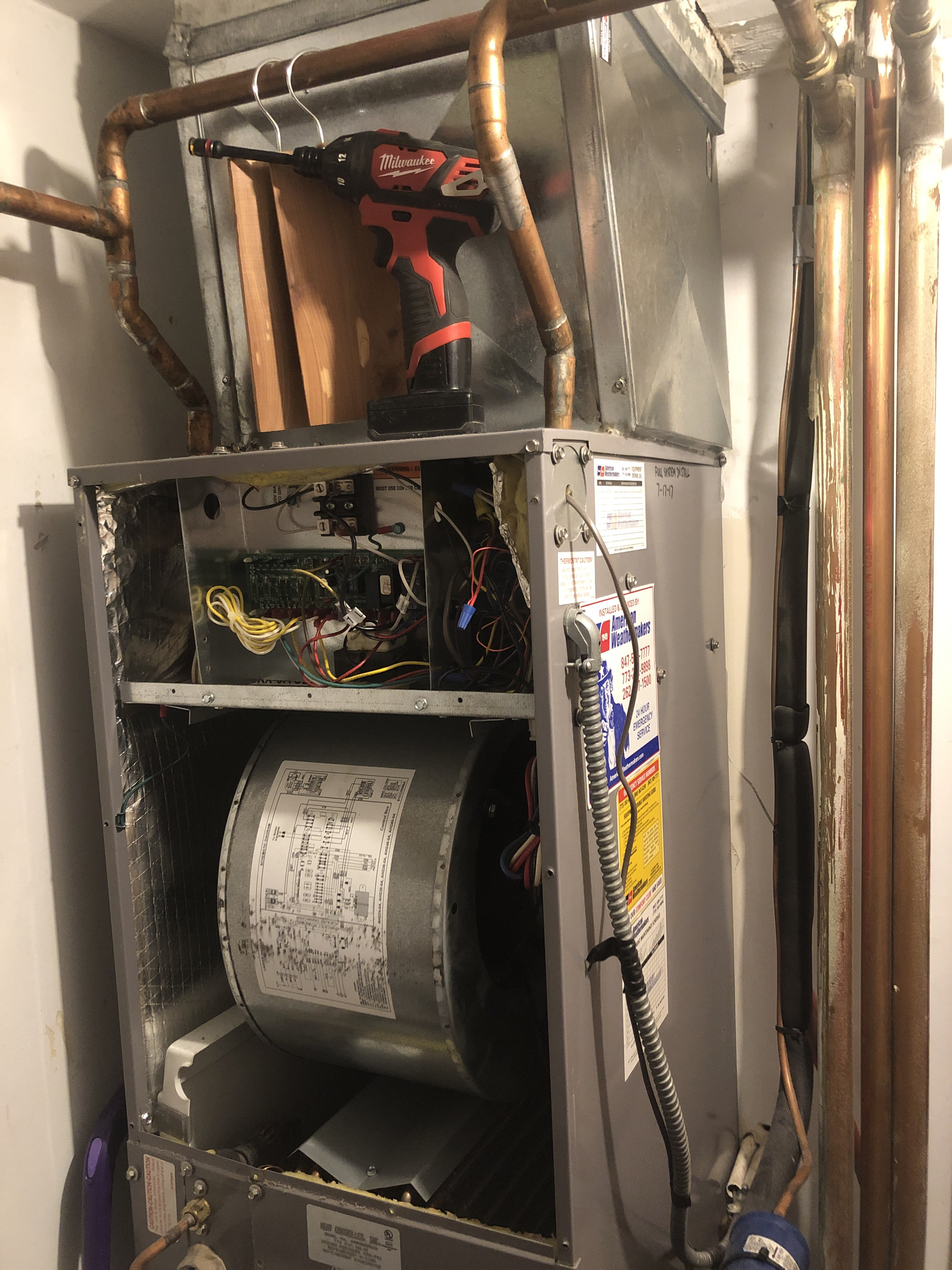 Provided club customer with annual preventative maintenance on there hydronic/ac combo pack and took measures to ensure that the equipment has a lasting life expectancy