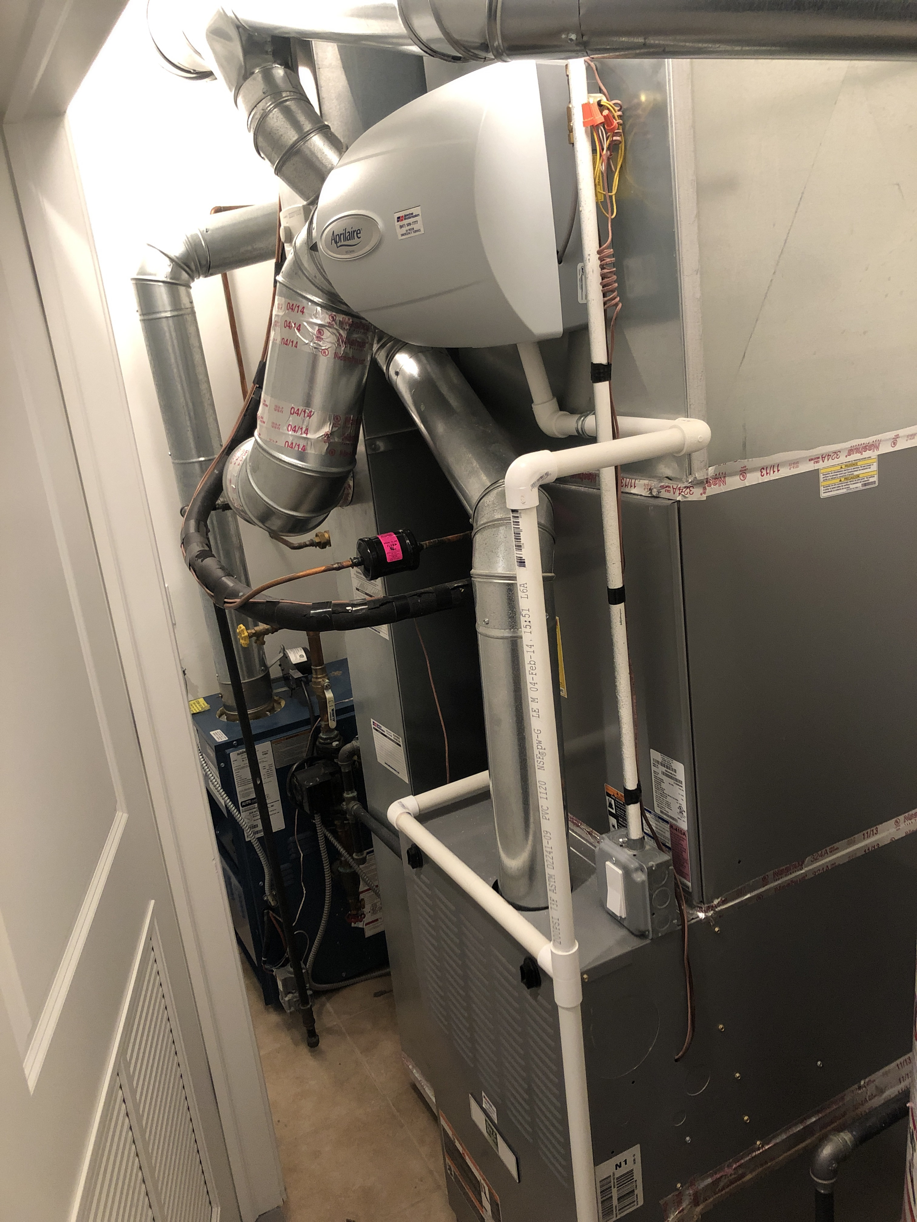Provided club customer with annual preventative maintenance on both boiler. furnace and humidifier and took measures to ensure the equipment has a lasting life expectancy