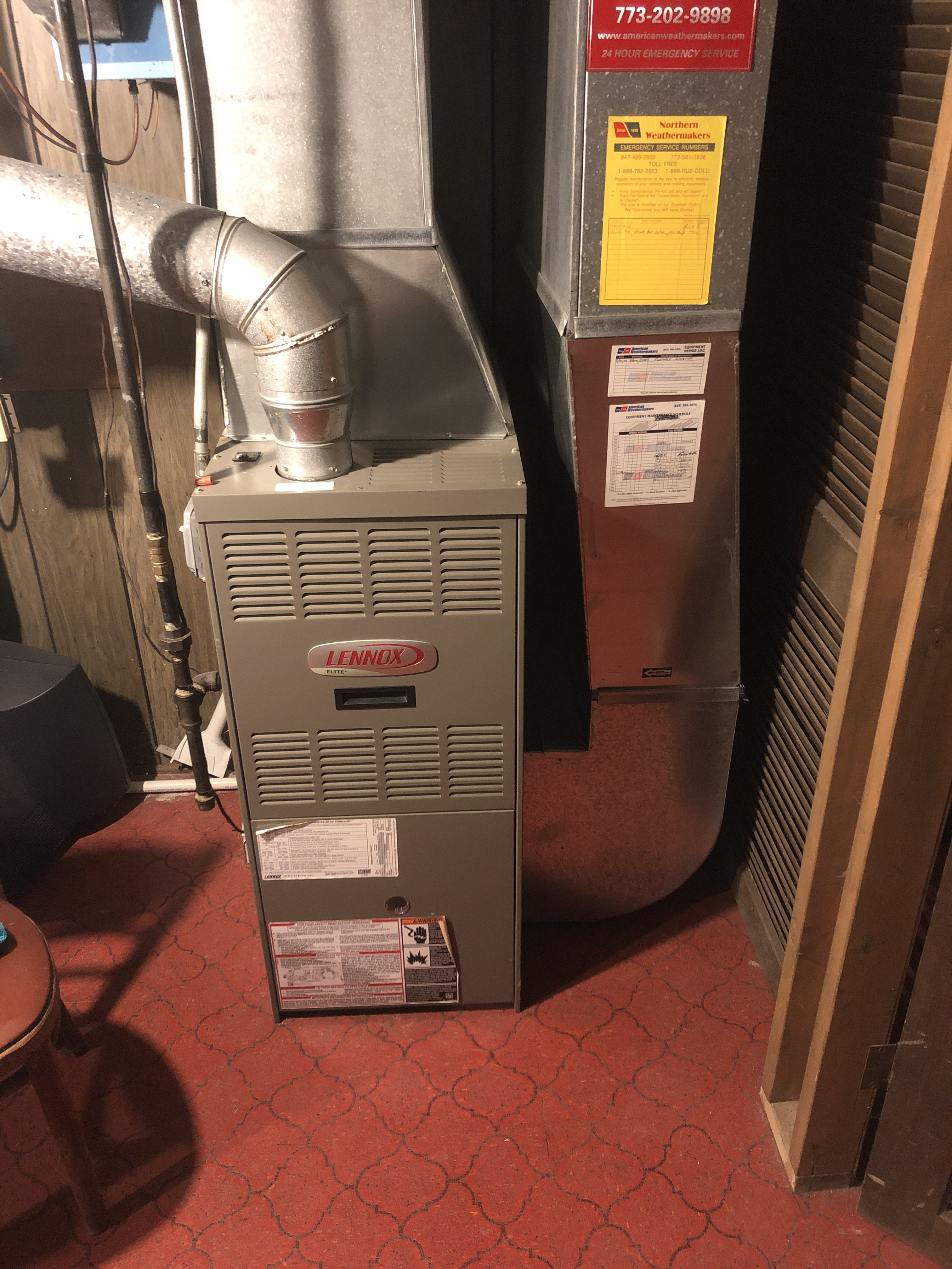 Provided club customer with annual preventative maintenance on 3 furnaces and took measures to ensure that the equipment had a lasting life expectancy