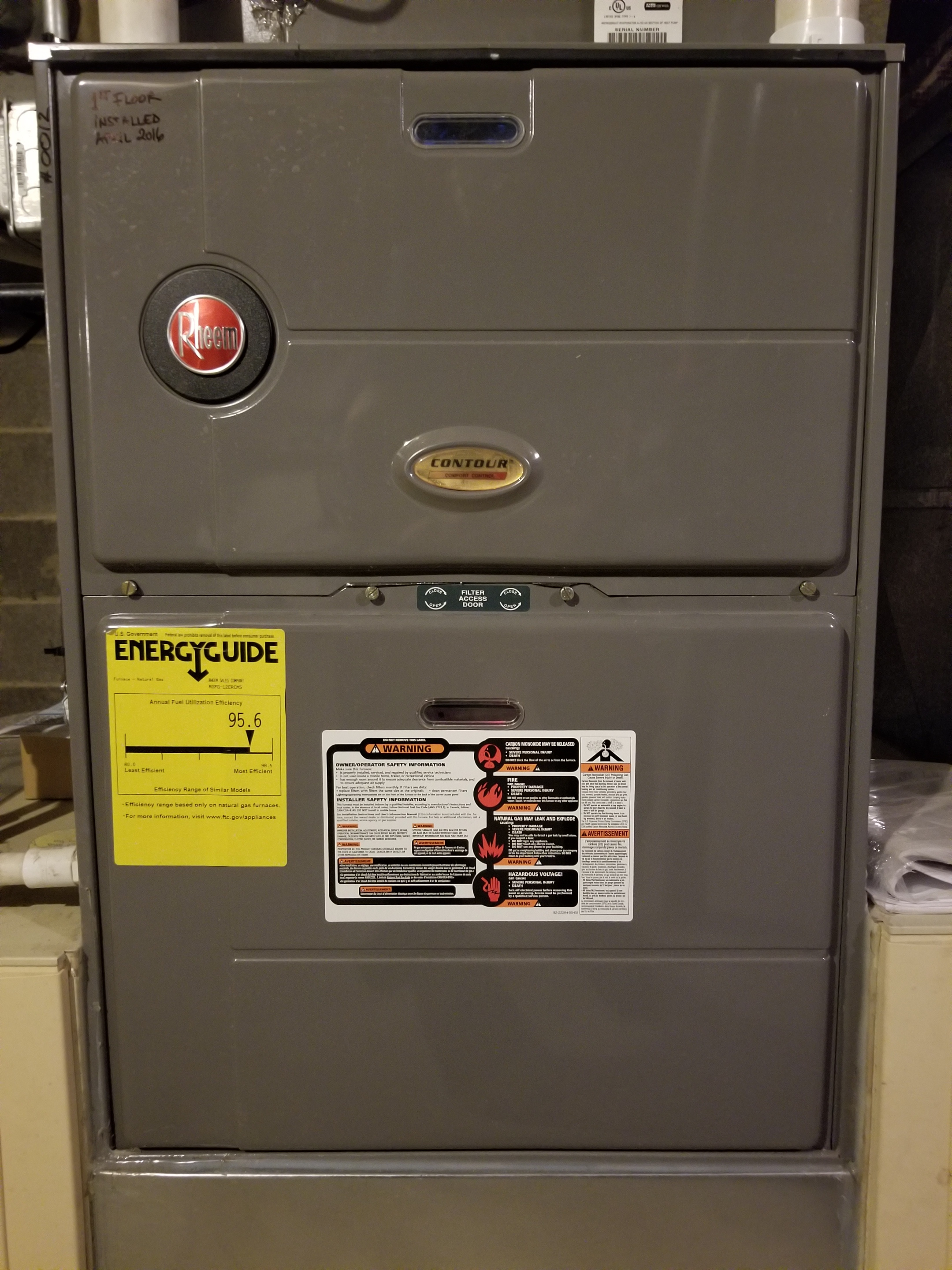 Repaired the furnace and made adjustments to improve the overall efficiency and life expectancy of the equipment