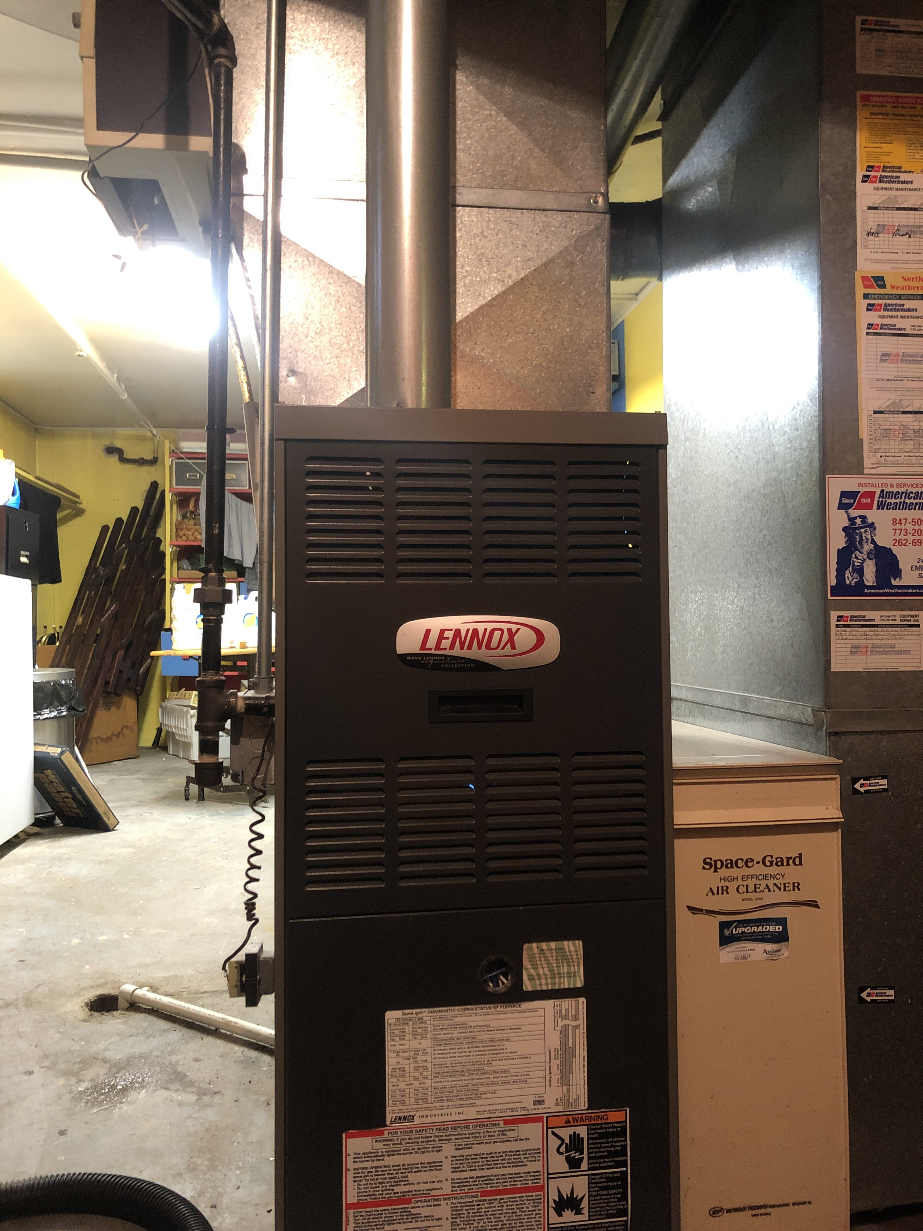 Provided club customer with annual preventative maintenance on furnace humidifier and air filter and took measures to ensure the equipment had a lasting life expectancy
