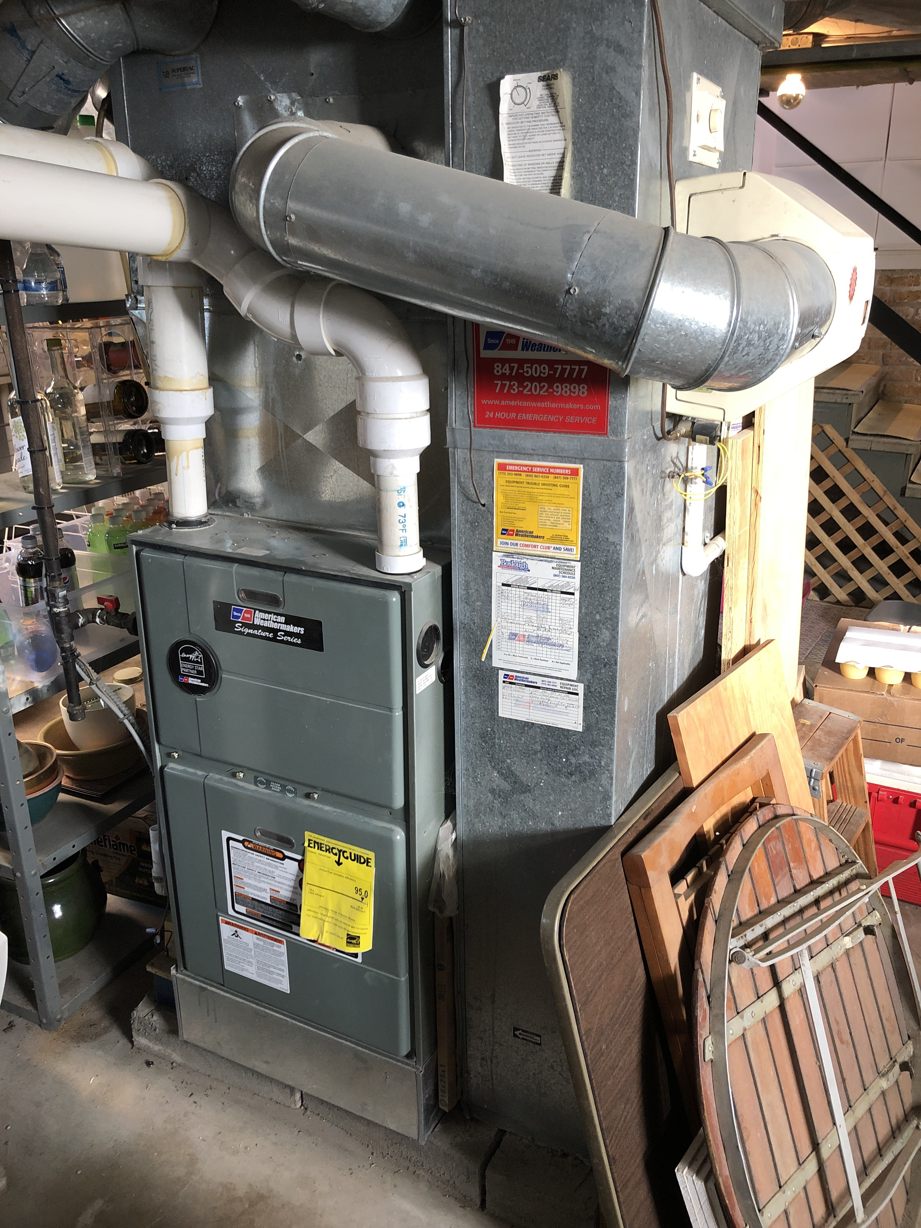 Provided club customer with annual preventative maintenance on furnace and humidifier and took measures to ensure the life expectancy of the equipment.