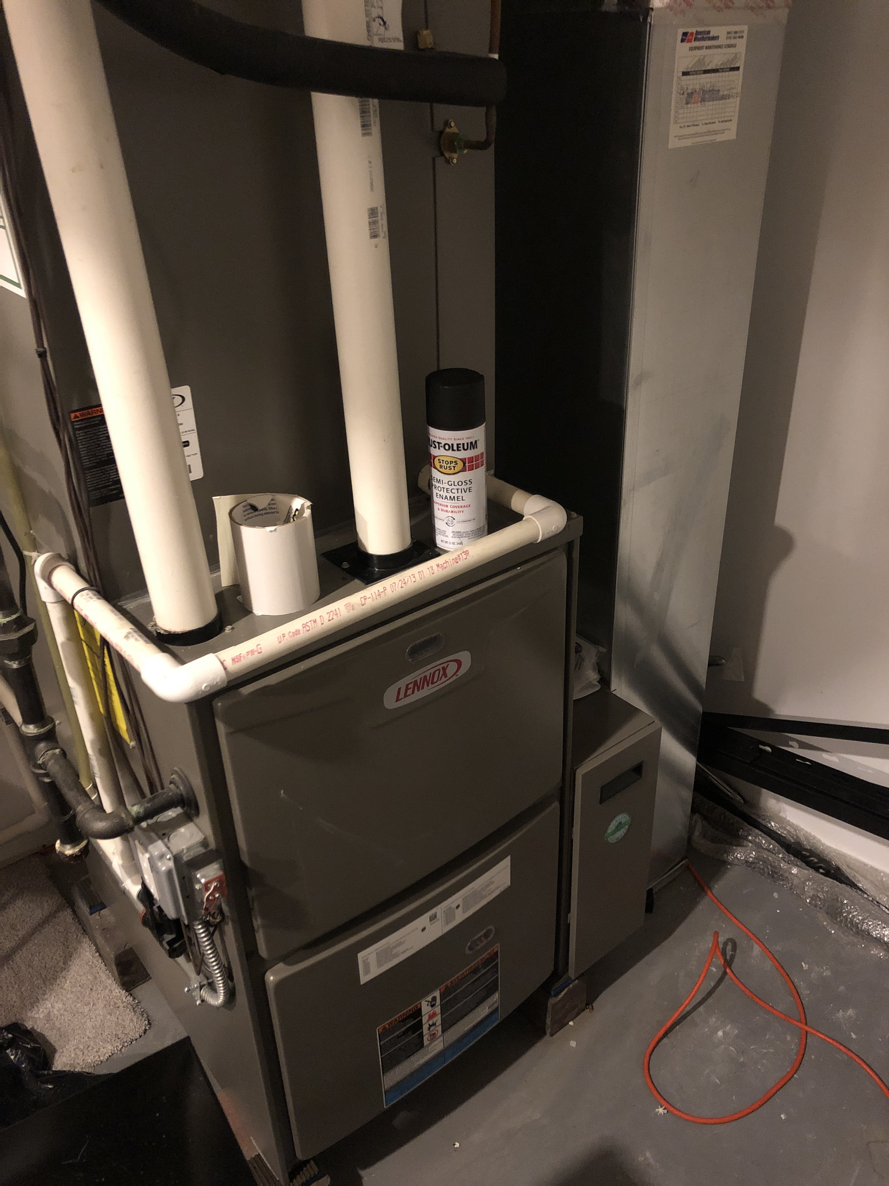 Provided club customer with annual preventative maintenance on 2 furnaces and took measures to ensure the life expectancy of the equipment.