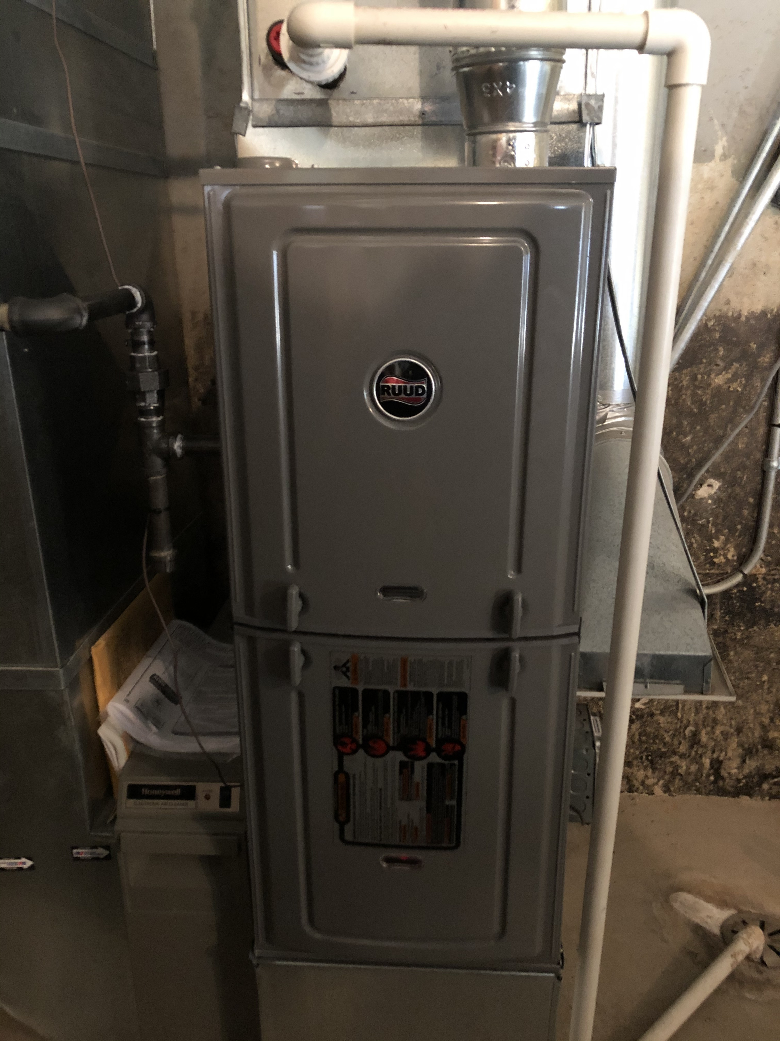 Protect your investment. Have annual maintenance on your furnace even if it's new.