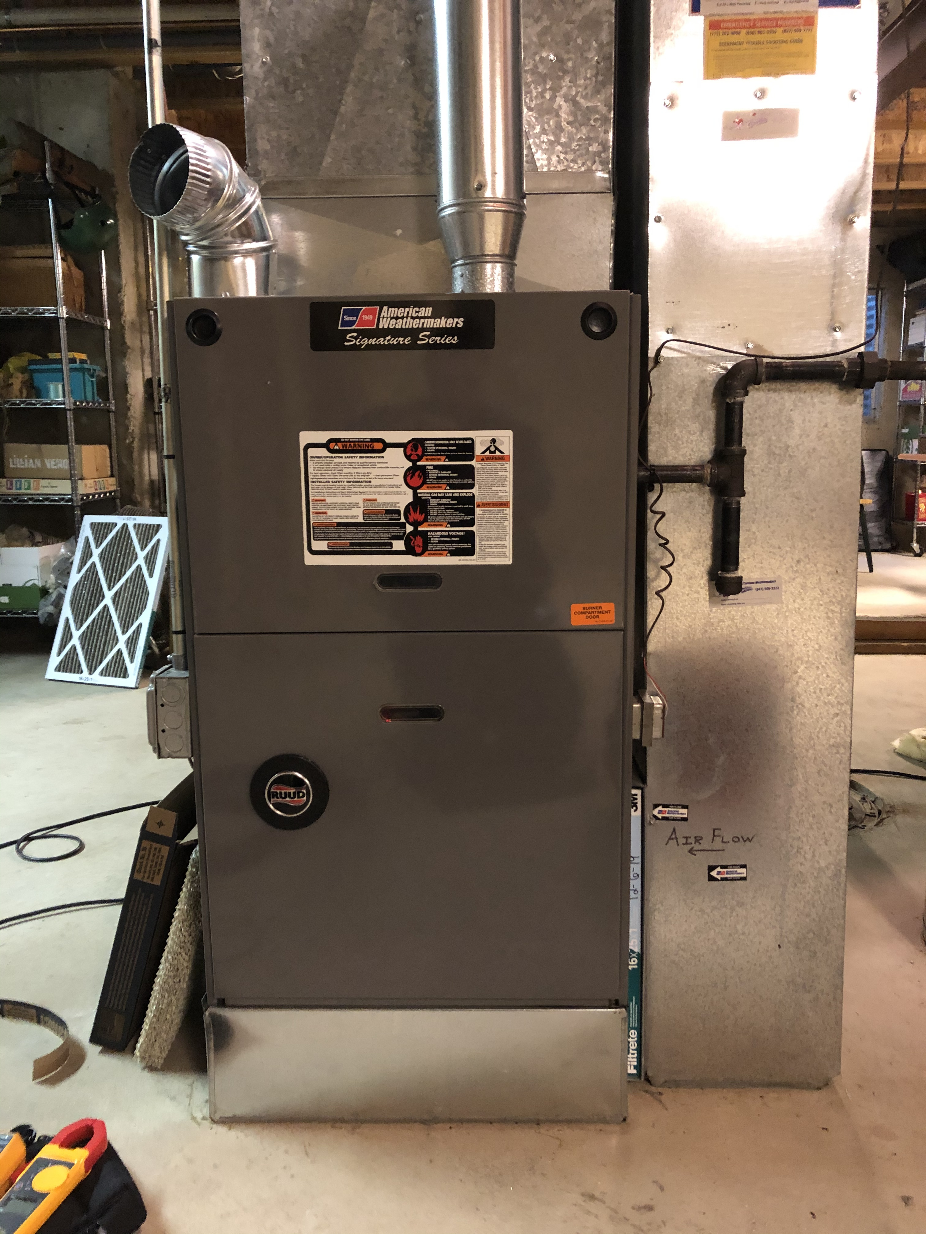 Keep your Ruud furnace running like new. Call American Weathermakers today and schedule a maintenance today.