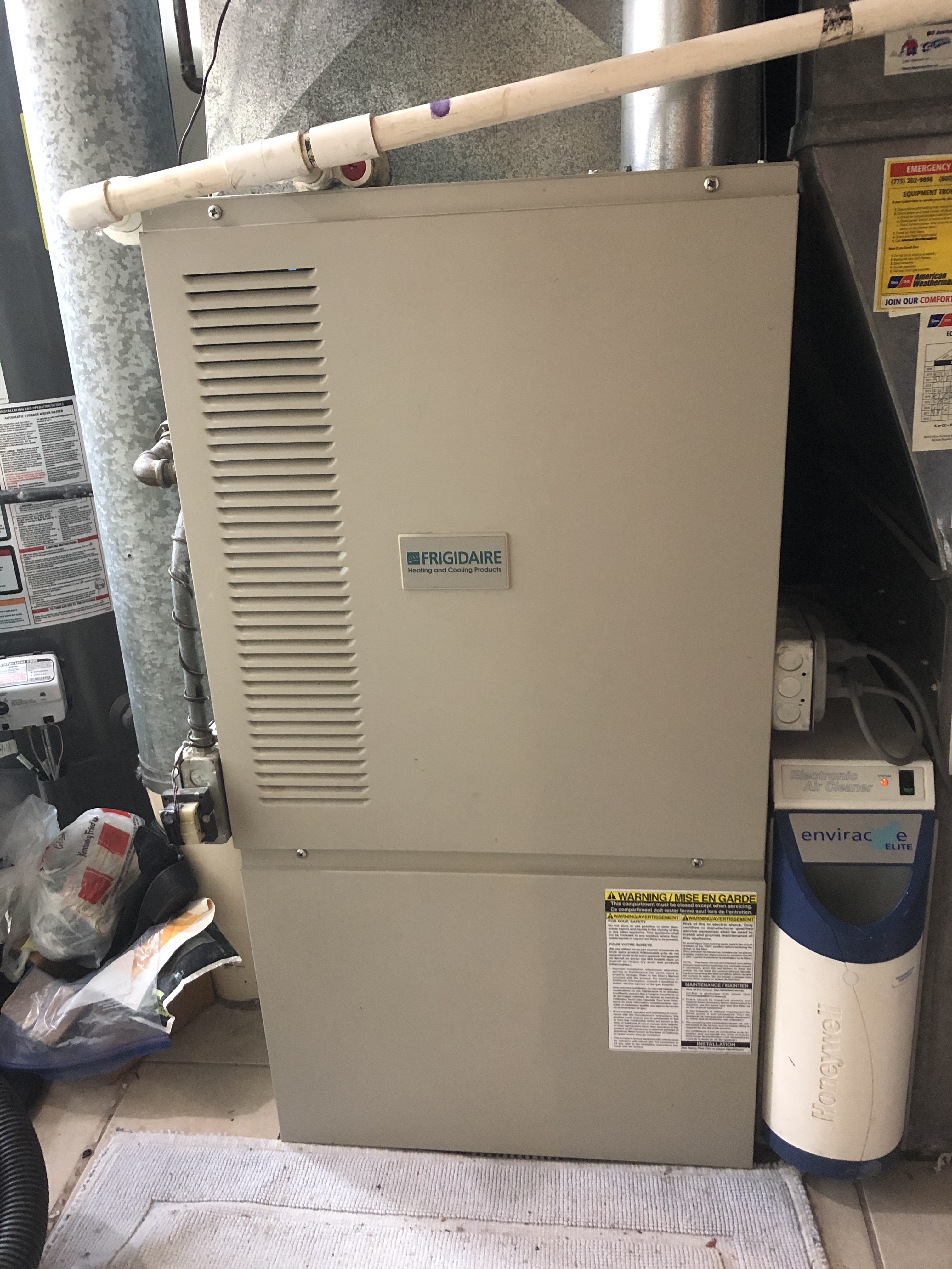 Make sure your Frigidaire furnace is blowing warm air this winter. Call American Weathermakers today.