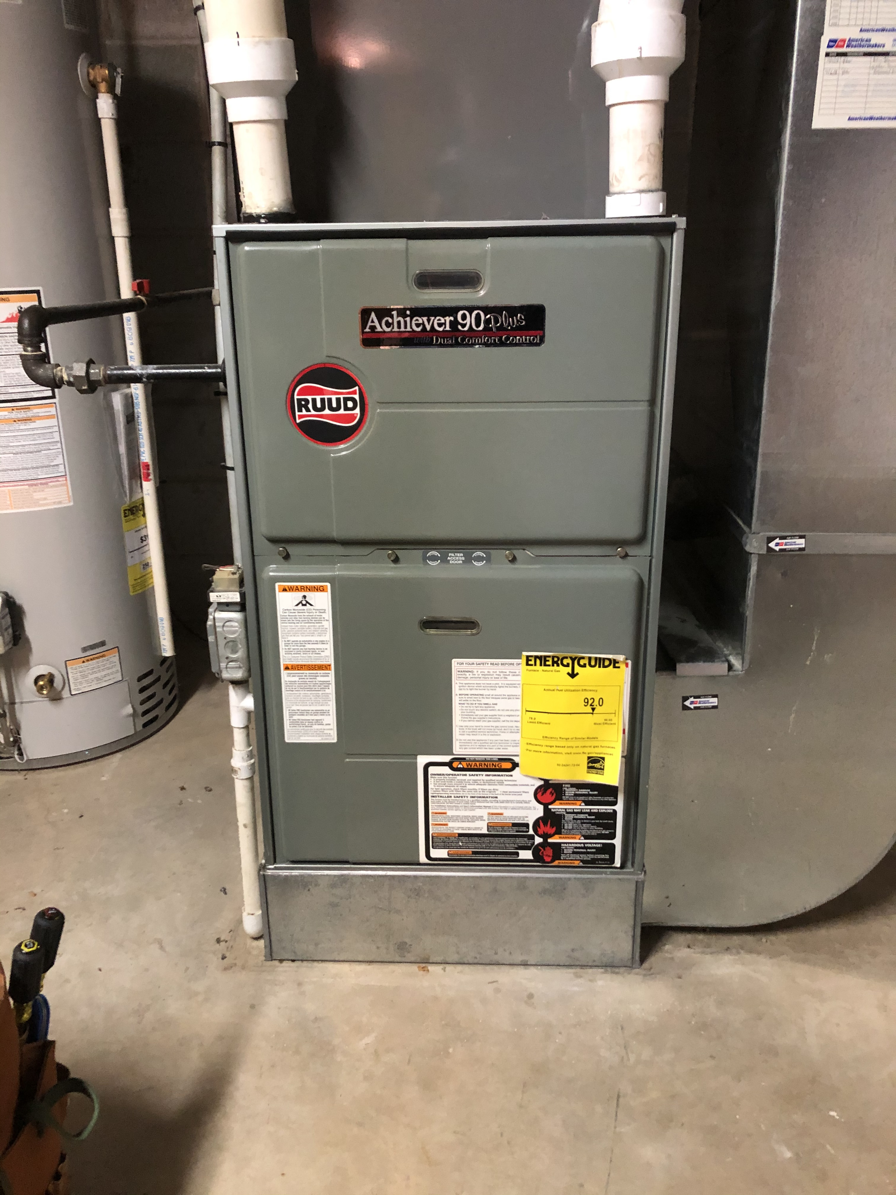 Keep your Ruud furnace running strong. Call American Weathermakers and schedule an appointment today.