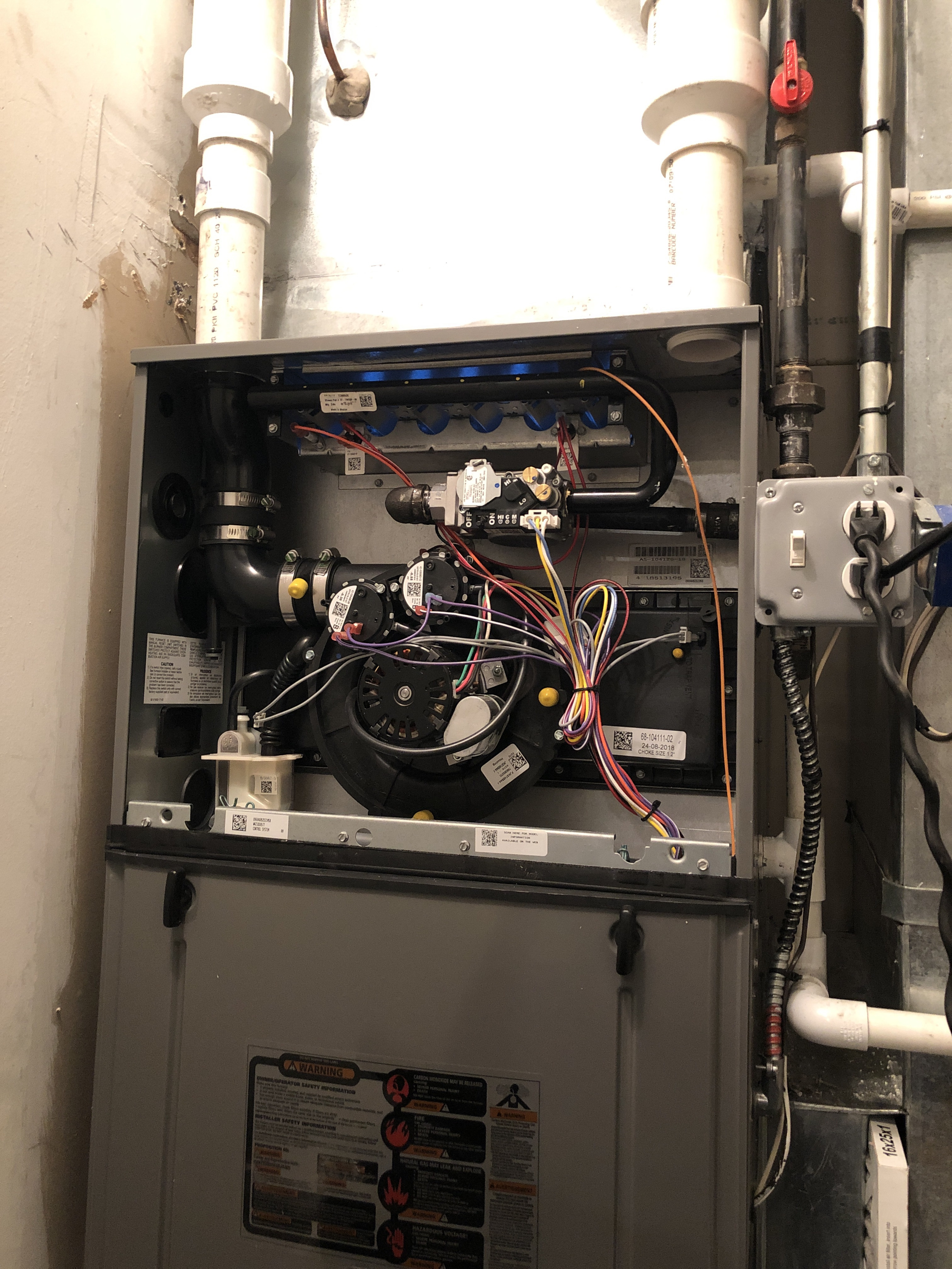 Maintenance Rudd furnace in Chicago