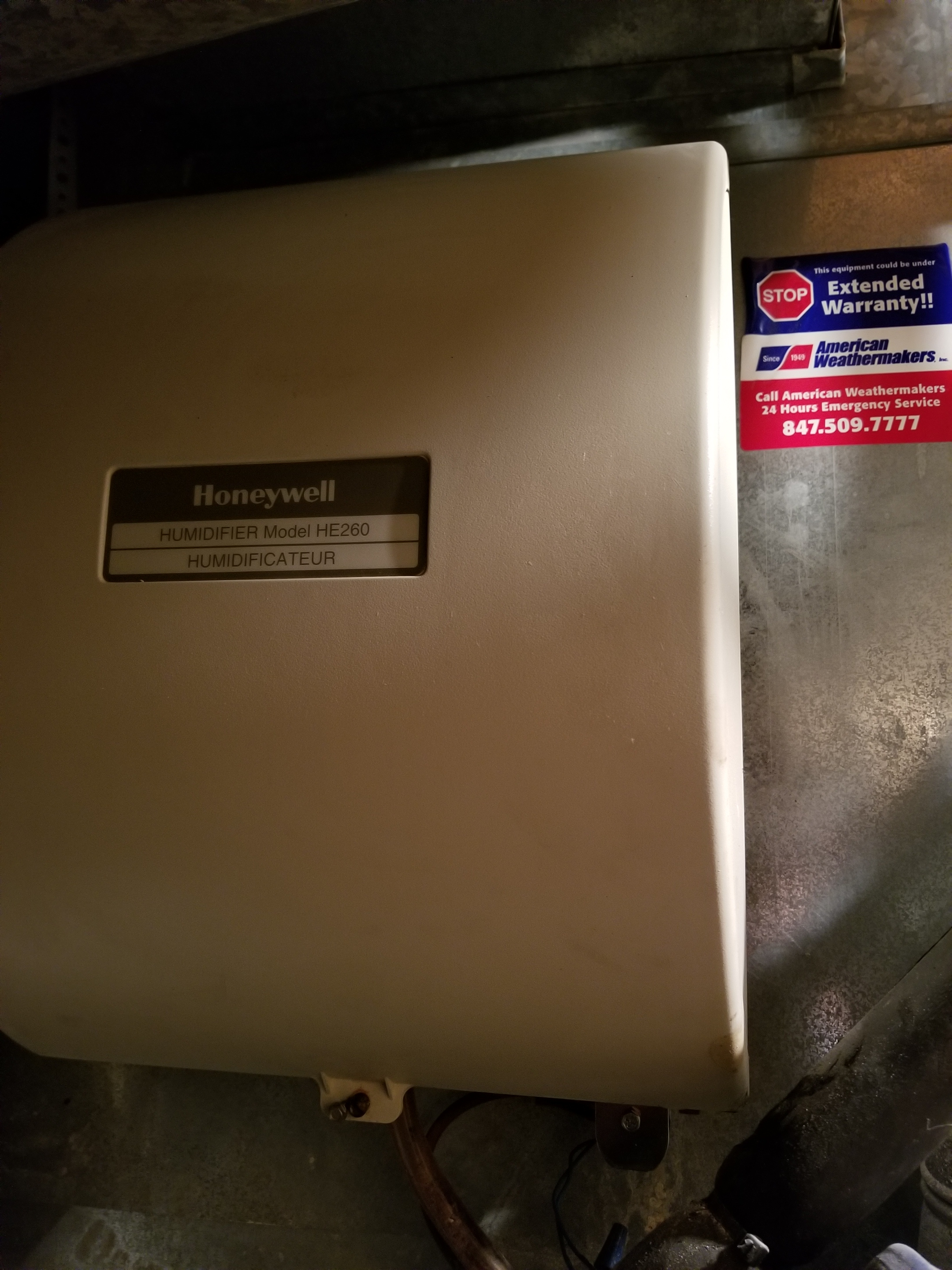 Performed annual maintenance on the Ruud furnace, Honeywell  humidifier & Honeywell air cleaner and made adjustments to improve the overall efficiency and life expectancy of the equipment