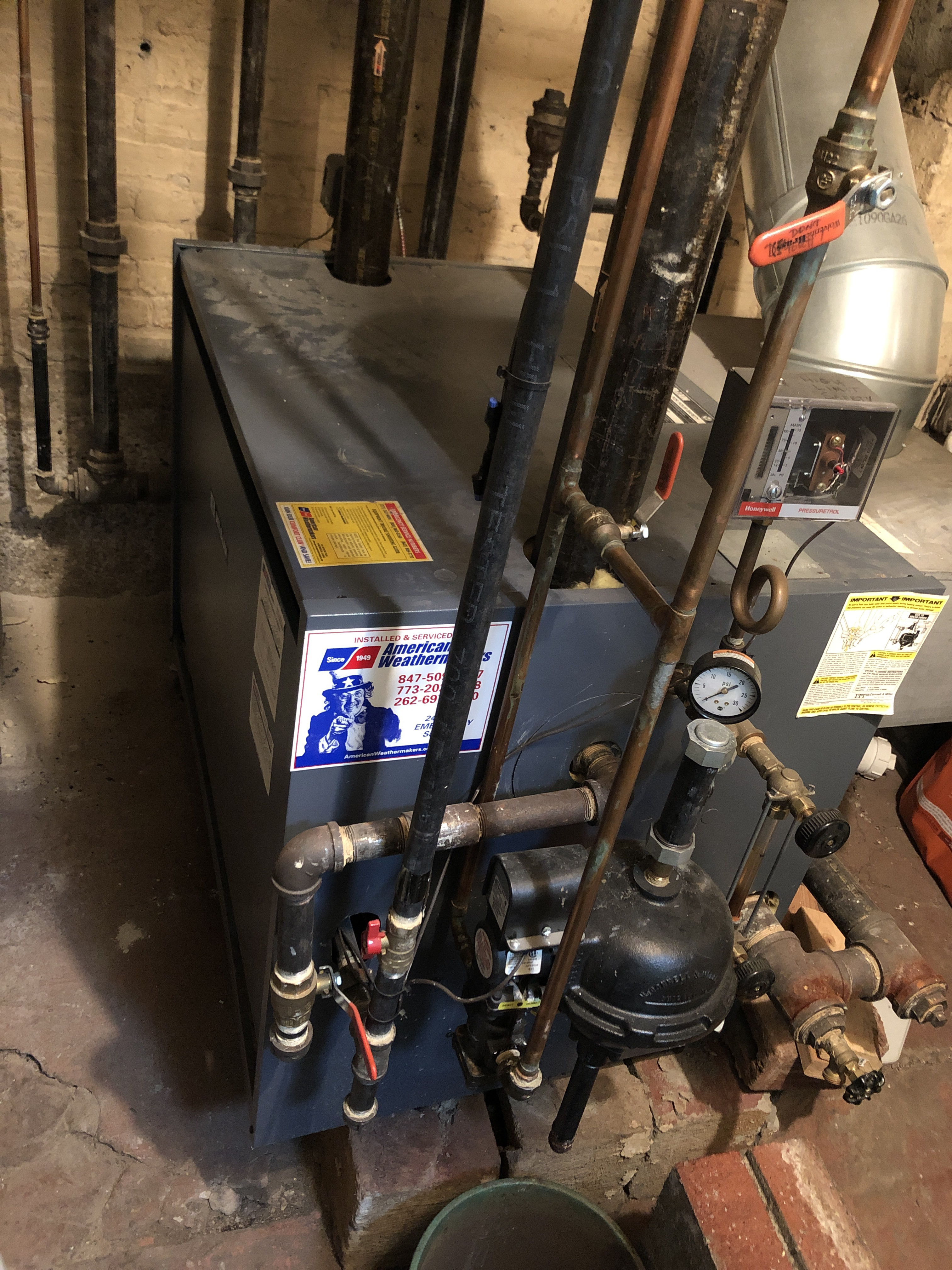 Provided customer with annual preventative maintenance on boiler and took measures to ensure the equipment has a lasting life expectancy