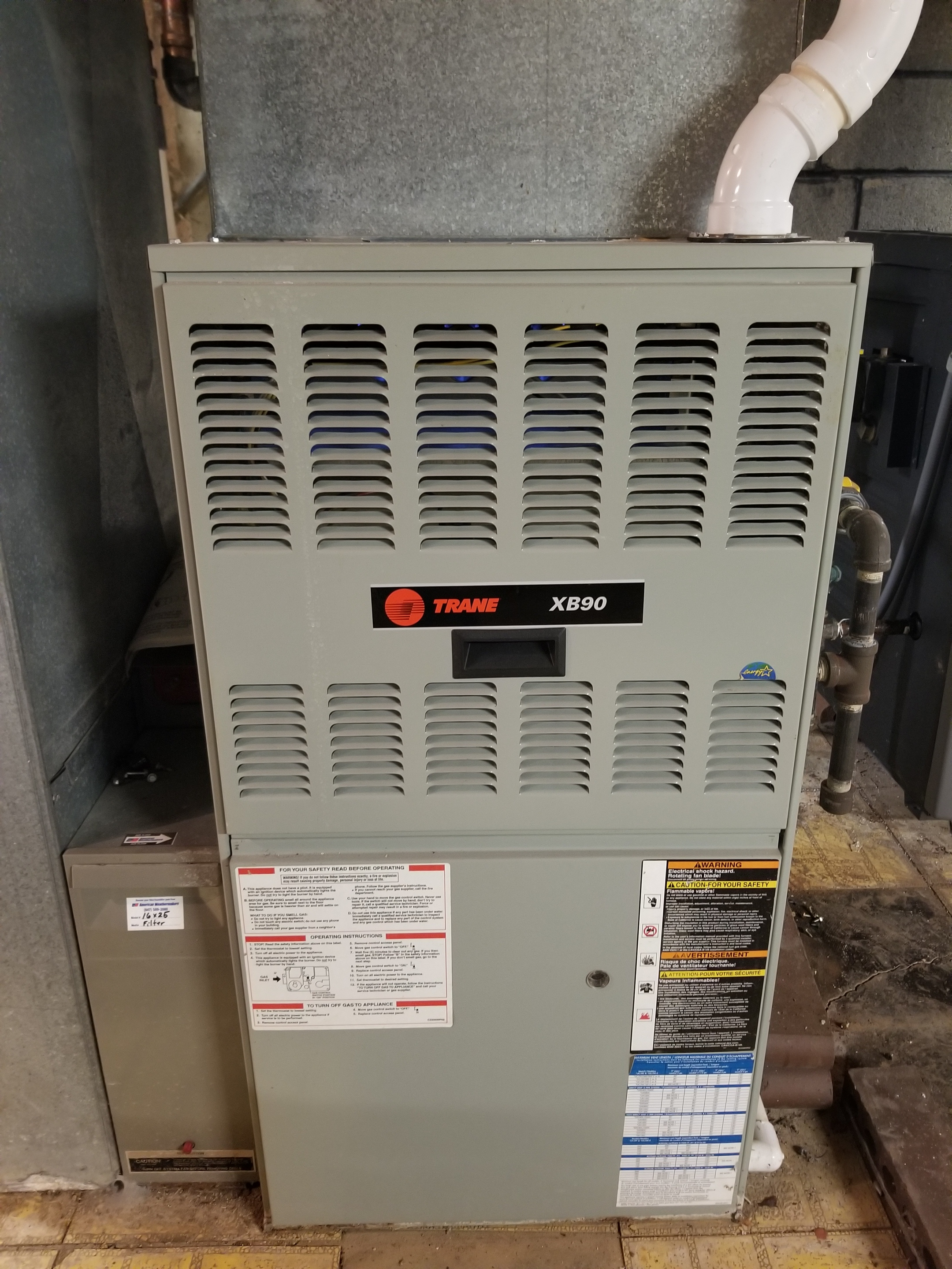 Performed annual maintenance on the Trane furnace and Aprilaire humidifier and made adjustments to improve the overall efficiency and life expectancy of the equipment