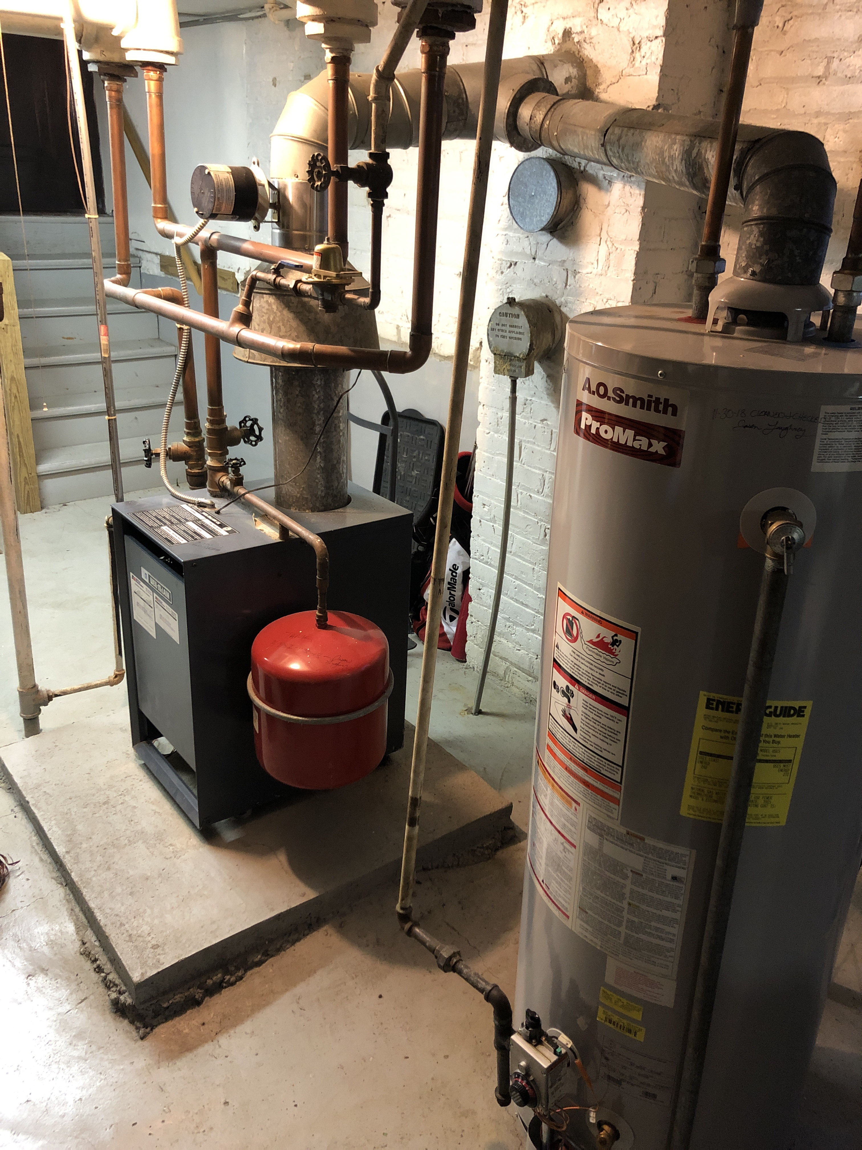 Provided club customer with annual preventative maintenance on there boiler and hot water heater and took measures to ensure that the equipment has a lasting life expectancy