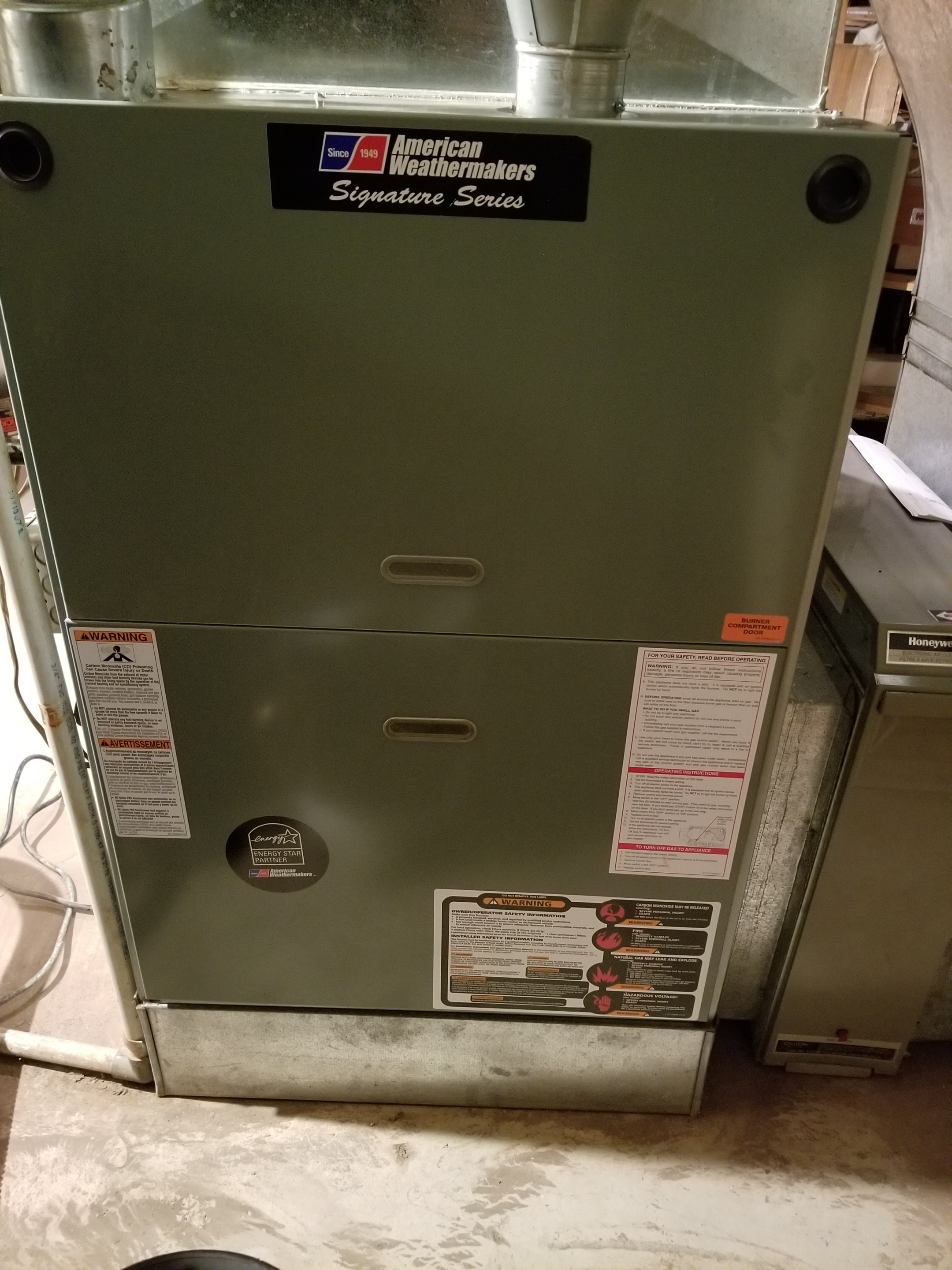 Repaired the furnace blower motor and made adjustments to improve the overall efficiency and life expectancy of the equipment