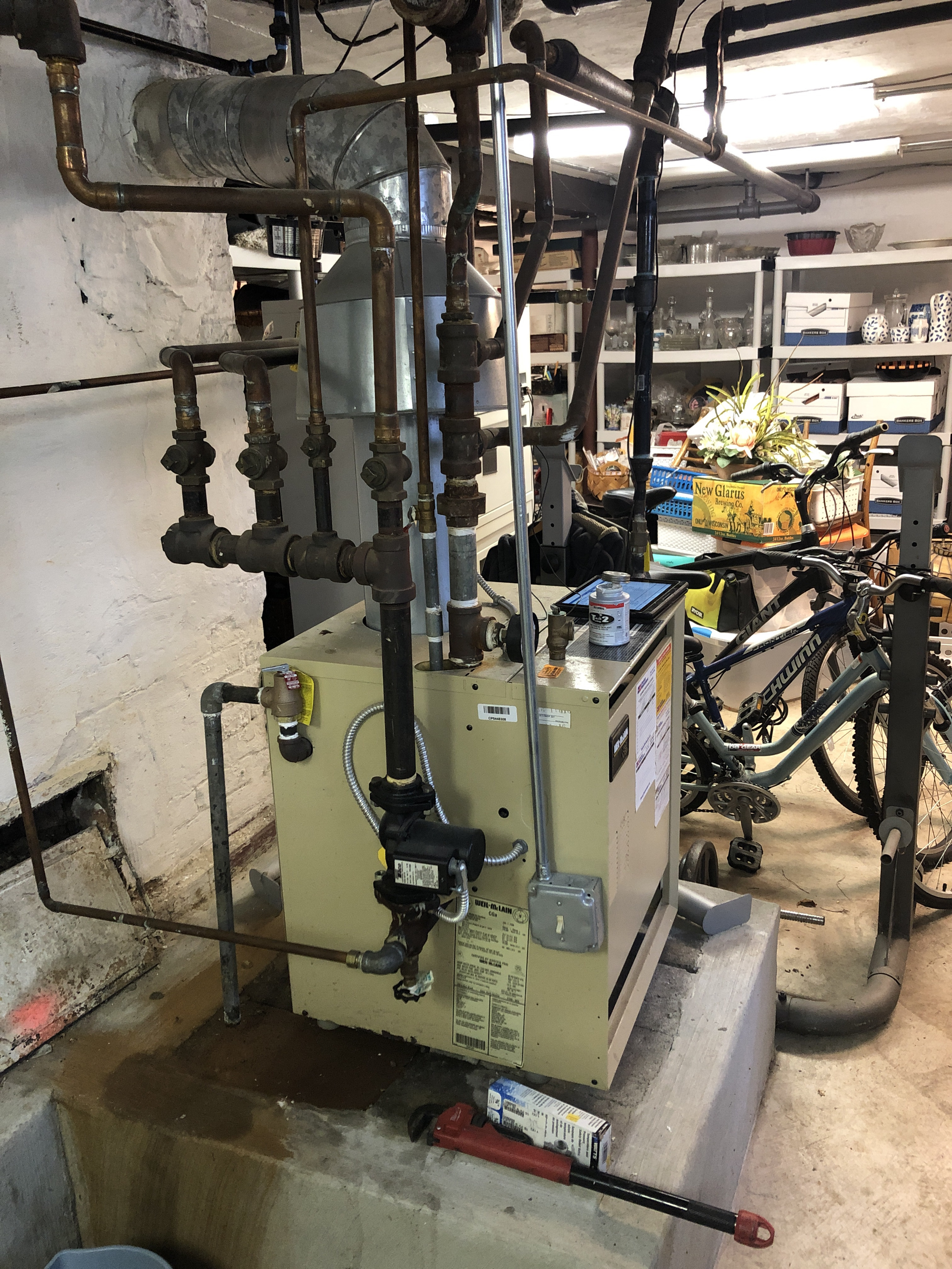Provided club customer with annual preventative maintenance on boiler and took measures to ensure the life expectancy of the equipment. Also replaced an old relief valve which was dripping constantly.