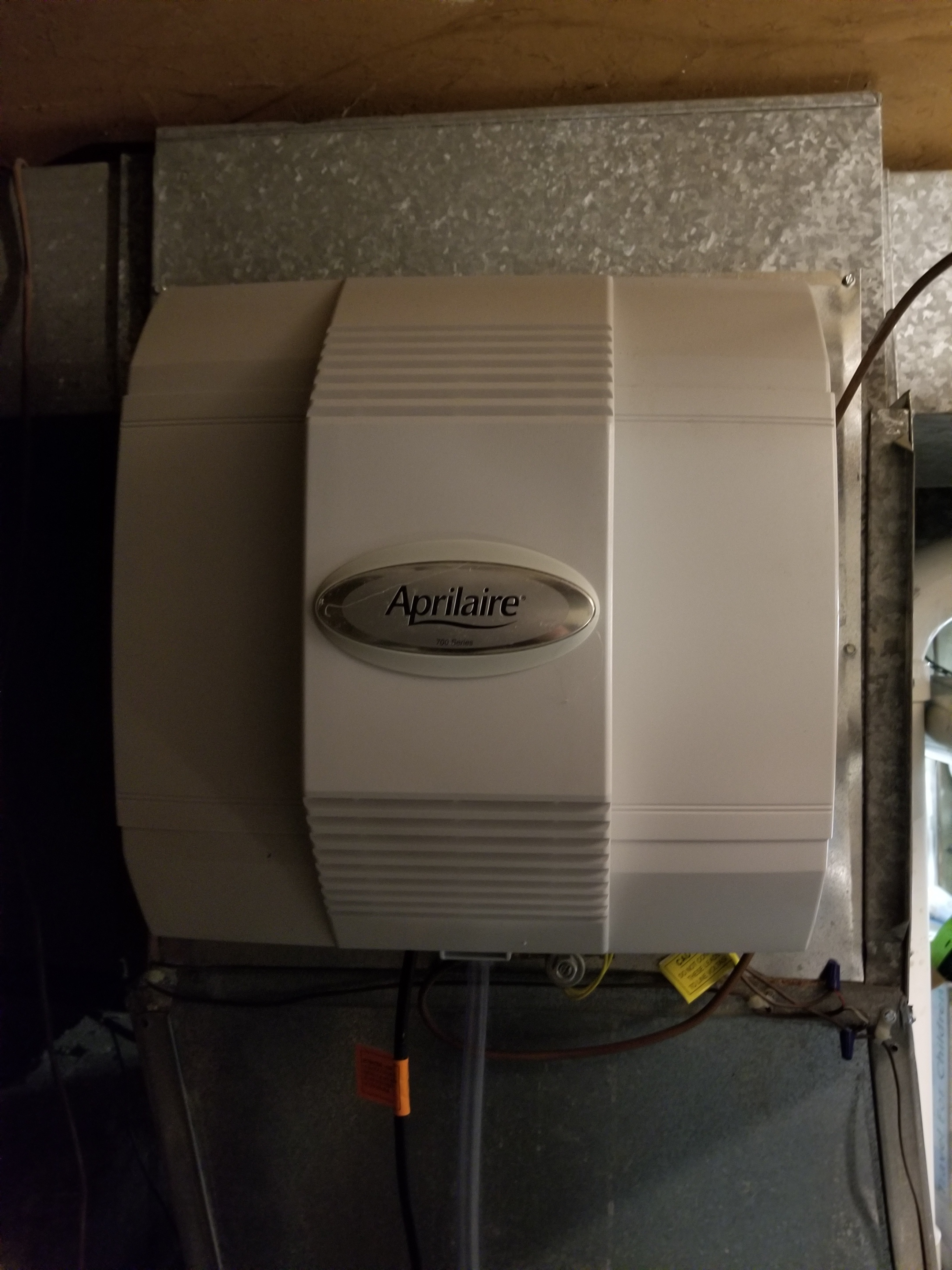 Repaired the Aprilaire humidifier and made adjustments to improve the overall efficiency and life expectancy of the equipment