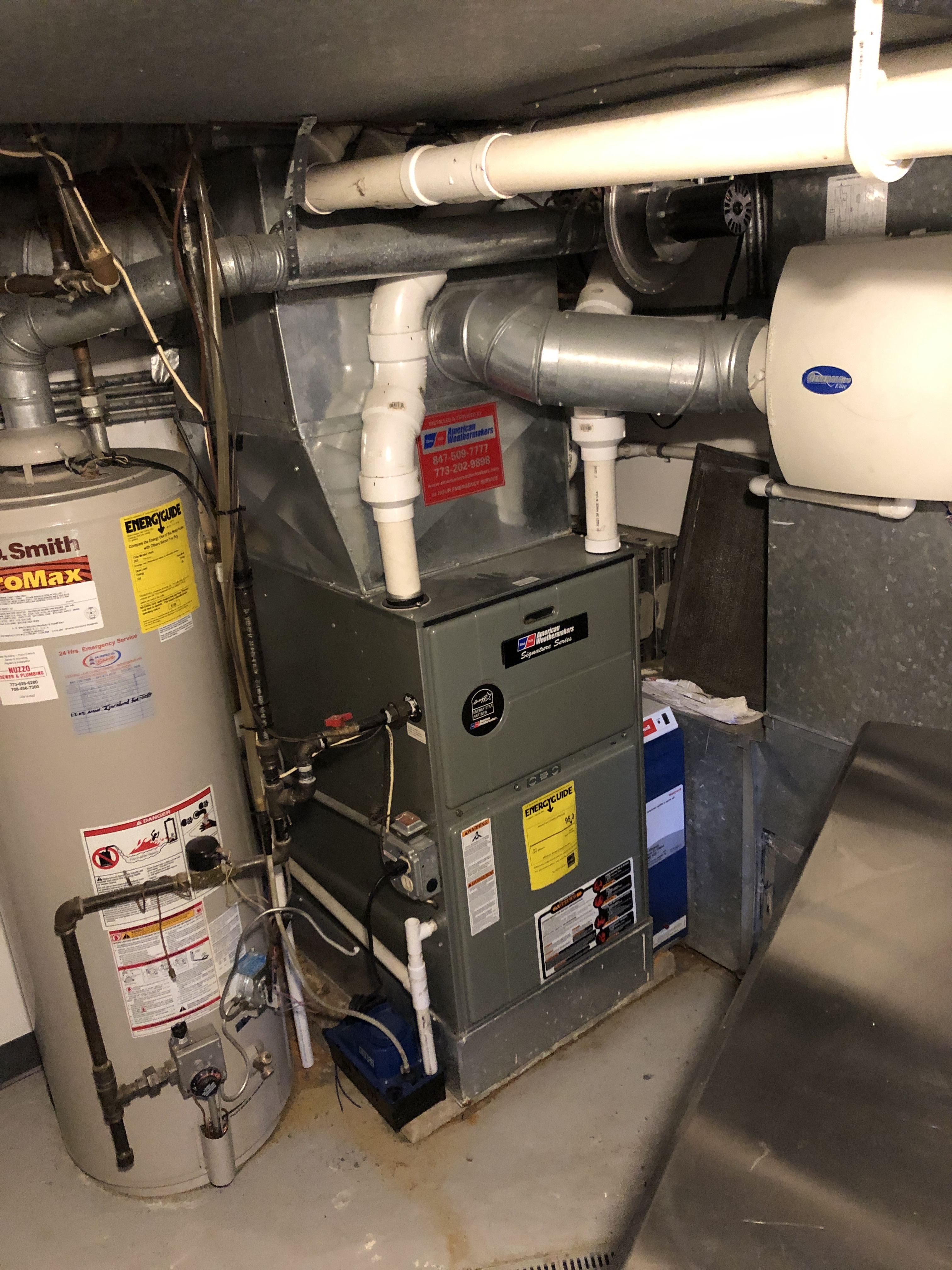 Provided club customer with annual preventative maintenance on there hot water heater, furnace, and gunner and took measures to ensure the life expectancy of the equipment