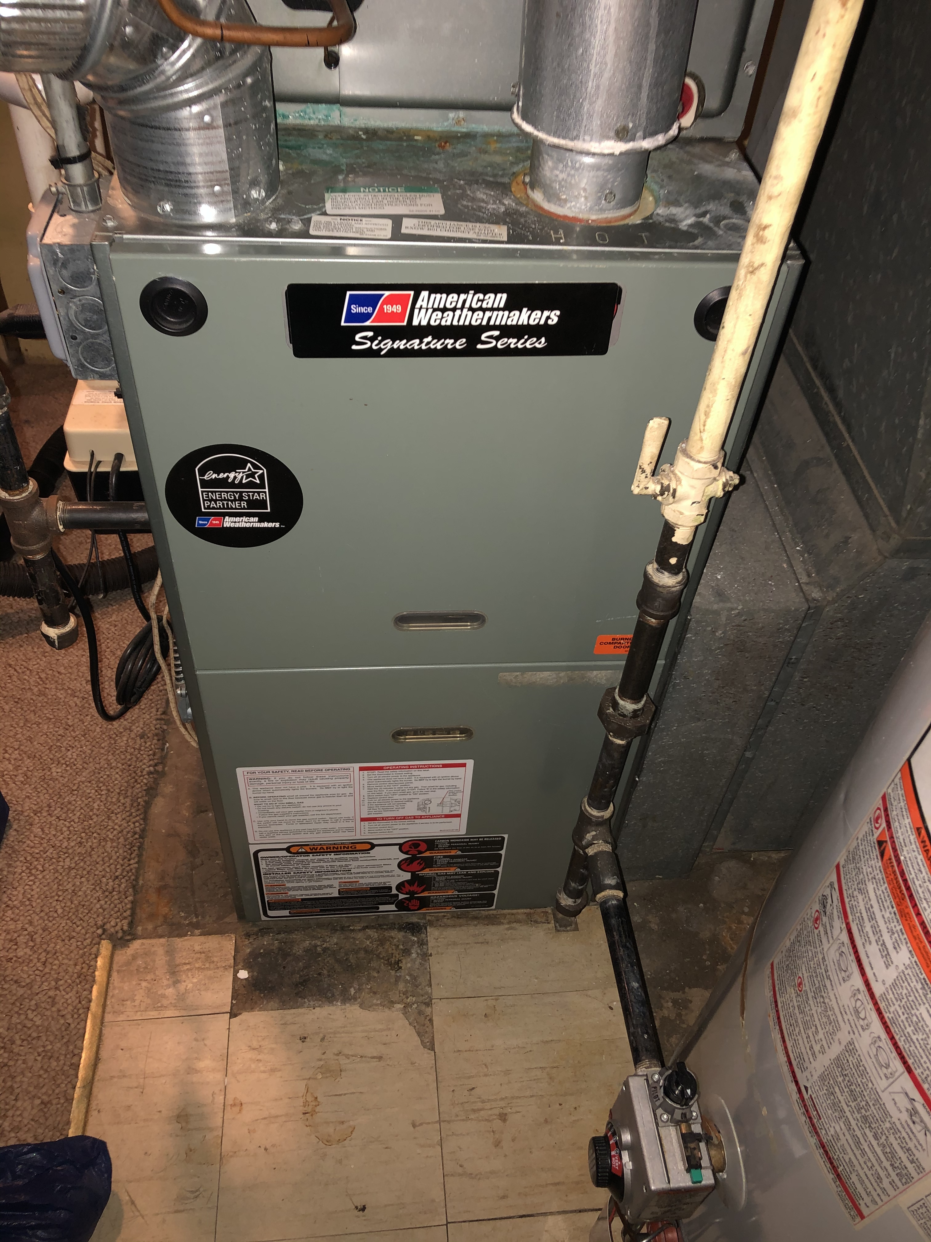 Keep your furnace running in tip top shape this winter and call American Weathermakers today.