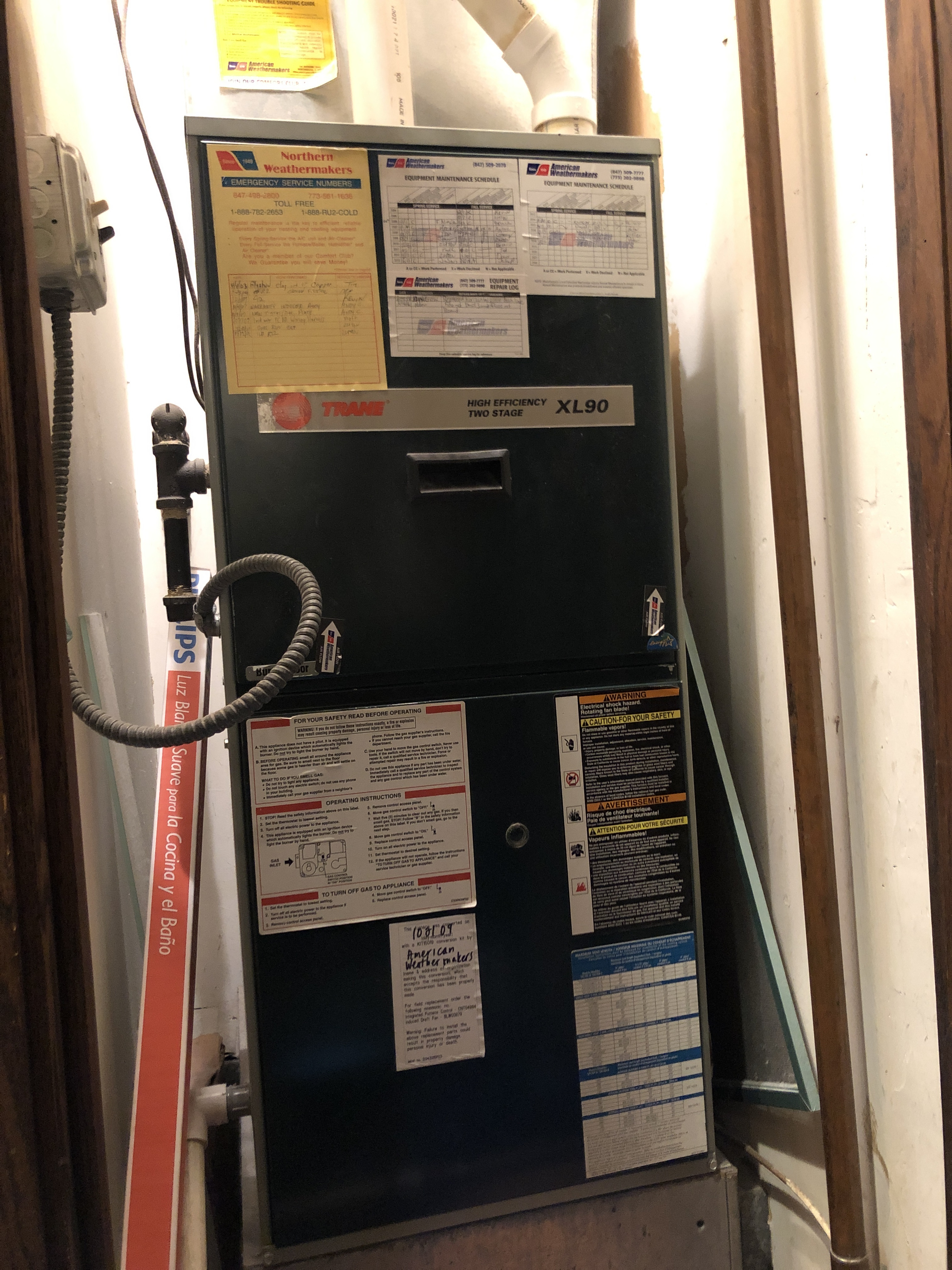 Arrived on call for no heat cycled unit found wiring problem in blower compartment fixed it and cycled unit to ensure no other problems were evident. Everything is functioning normally at this time.