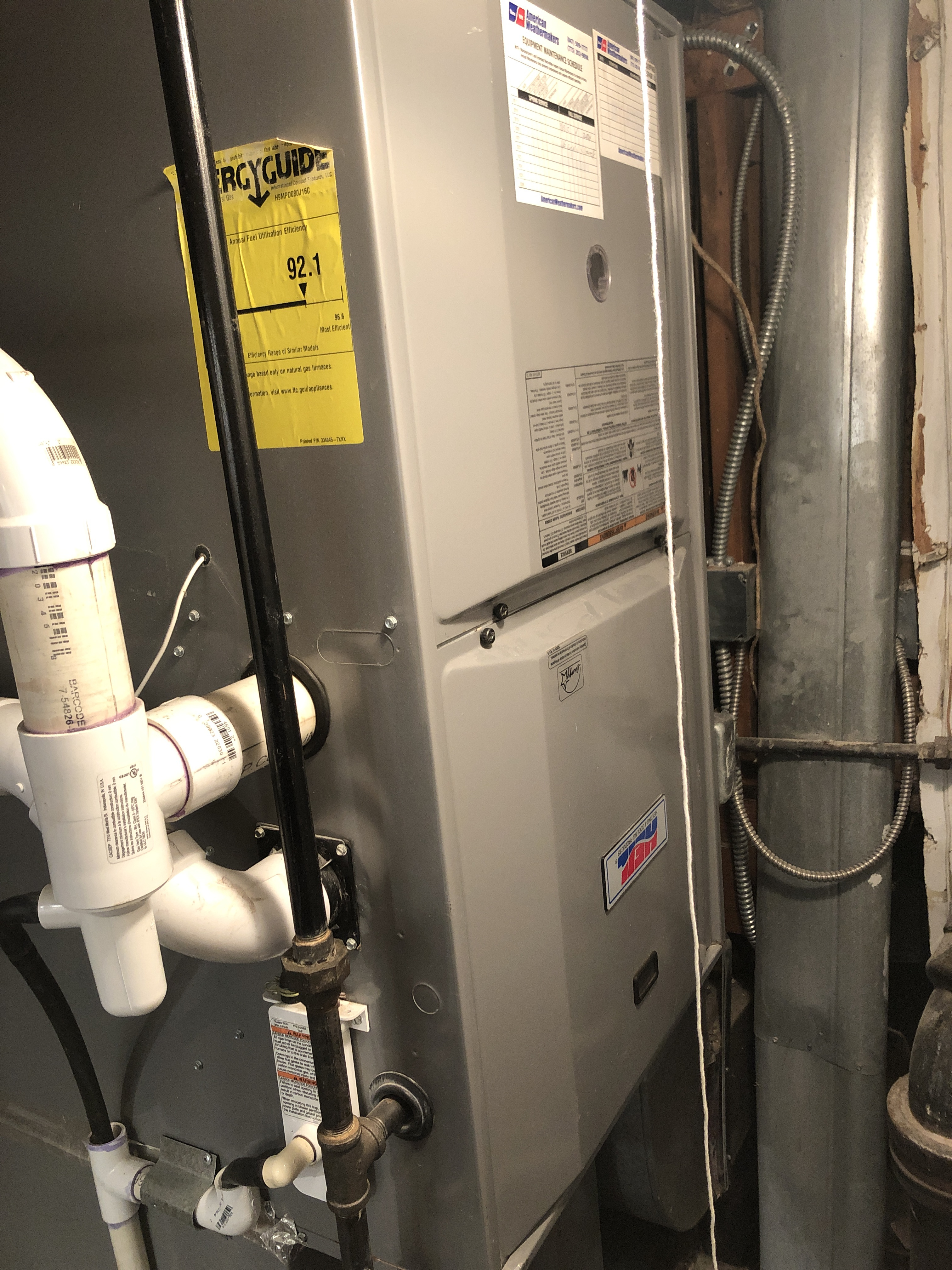 Provided club customer with annual preventative maintenance on there Heil furnace and took measures to ensure the life expectancy of the furnace