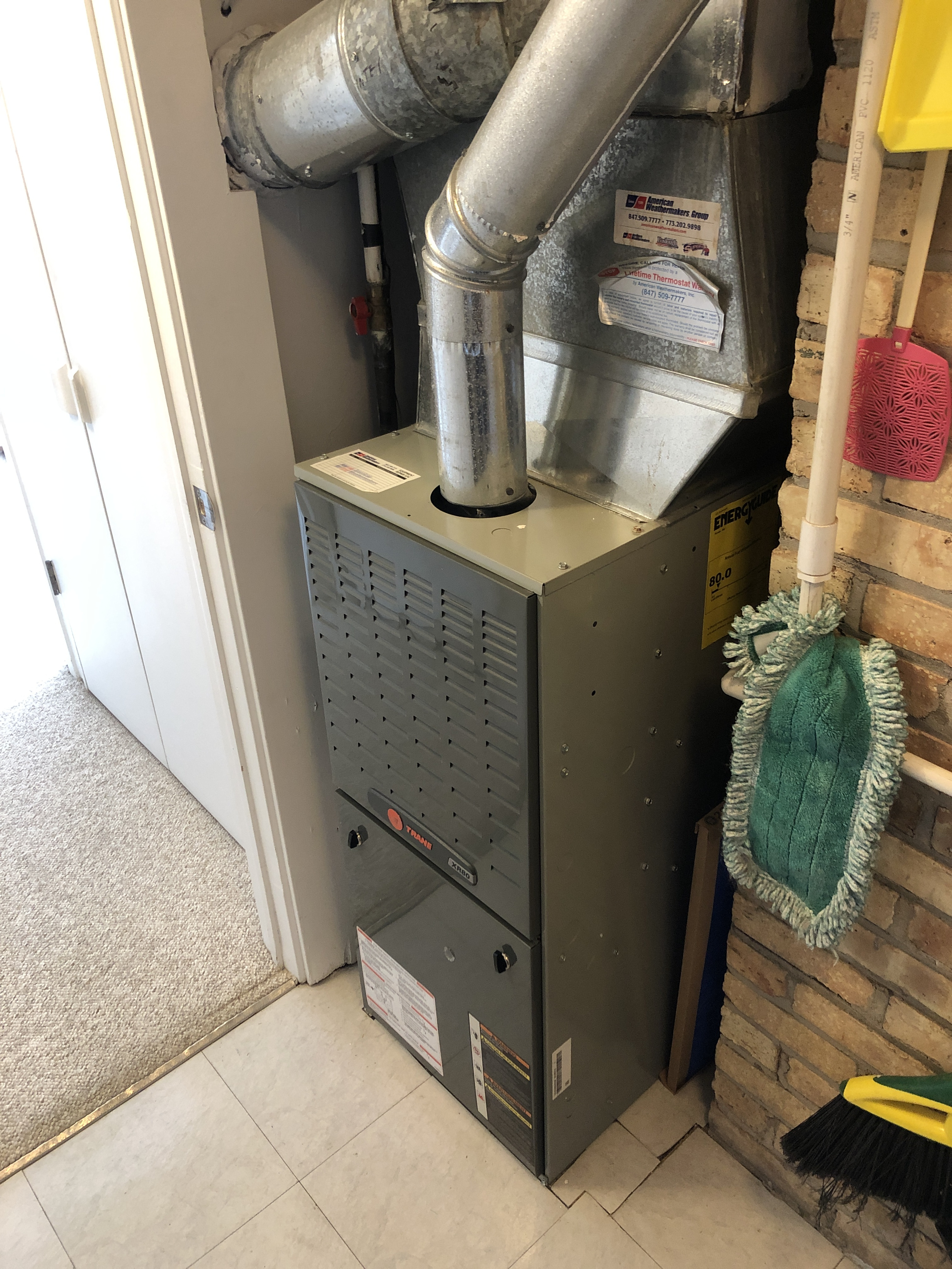 Arrived on call for giving quoting options to customer for new furnace.