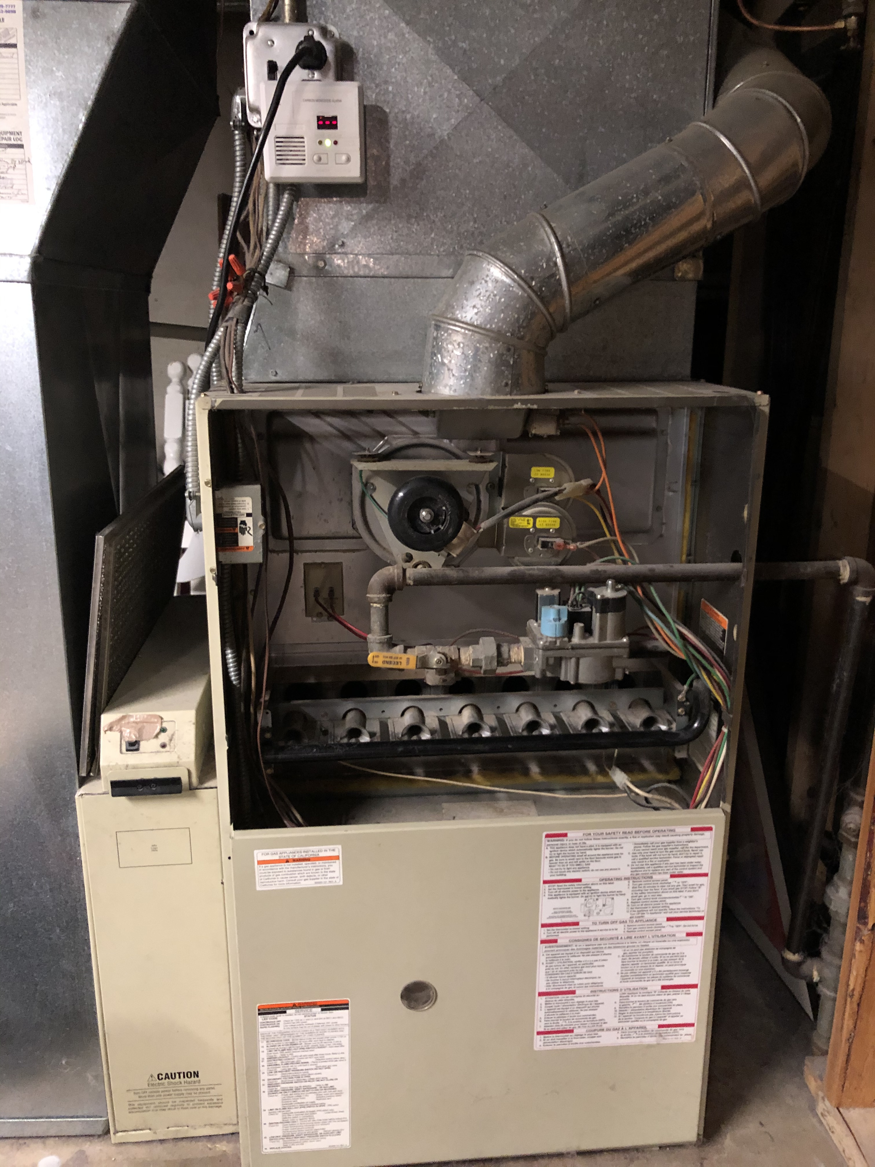 Provided extremely affordable pricing to replace failing furnace in Evanston