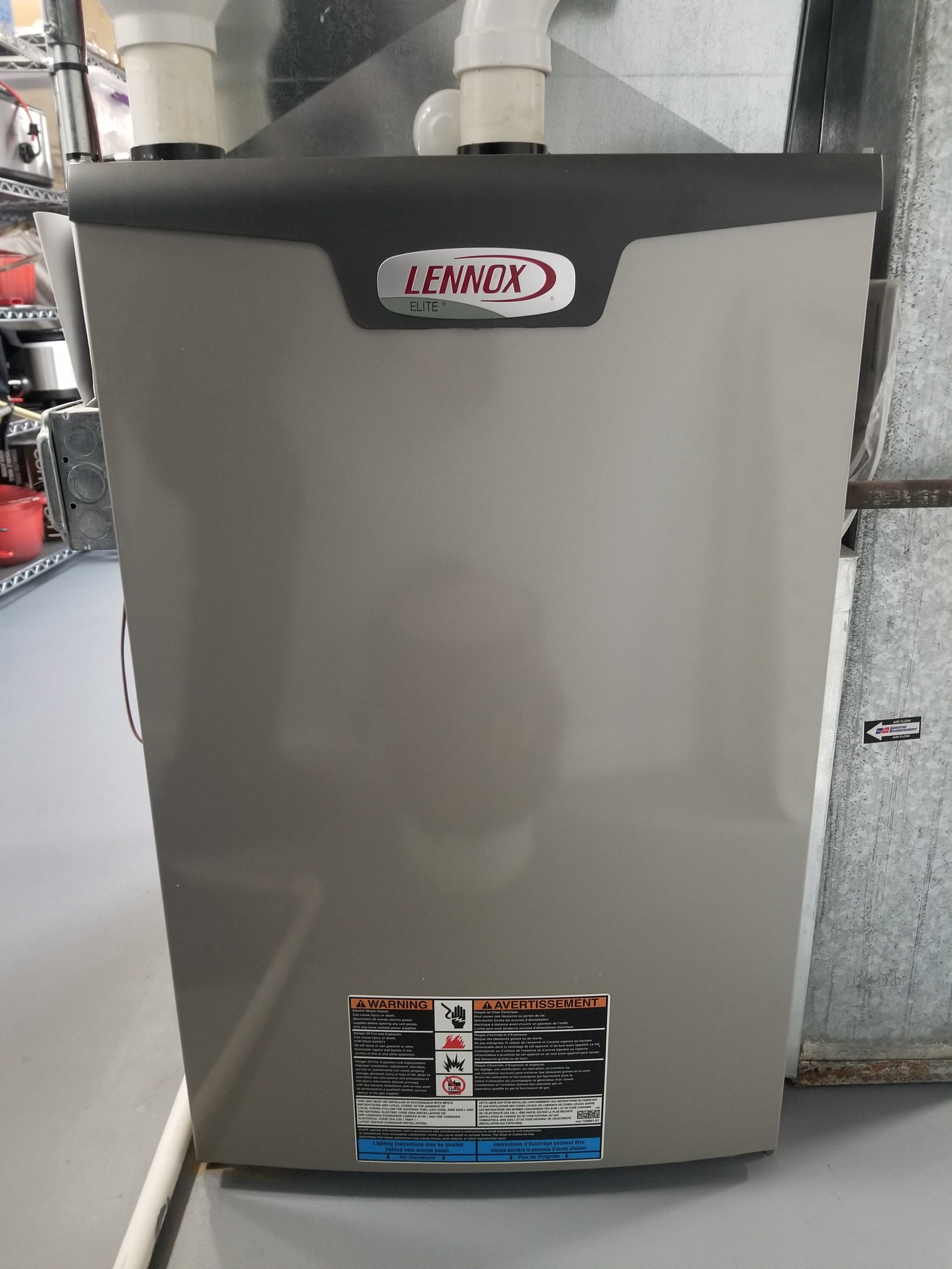 Repaired the Lennox furnace and made adjustments to improve the overall efficiency and life expectancy of the equipment