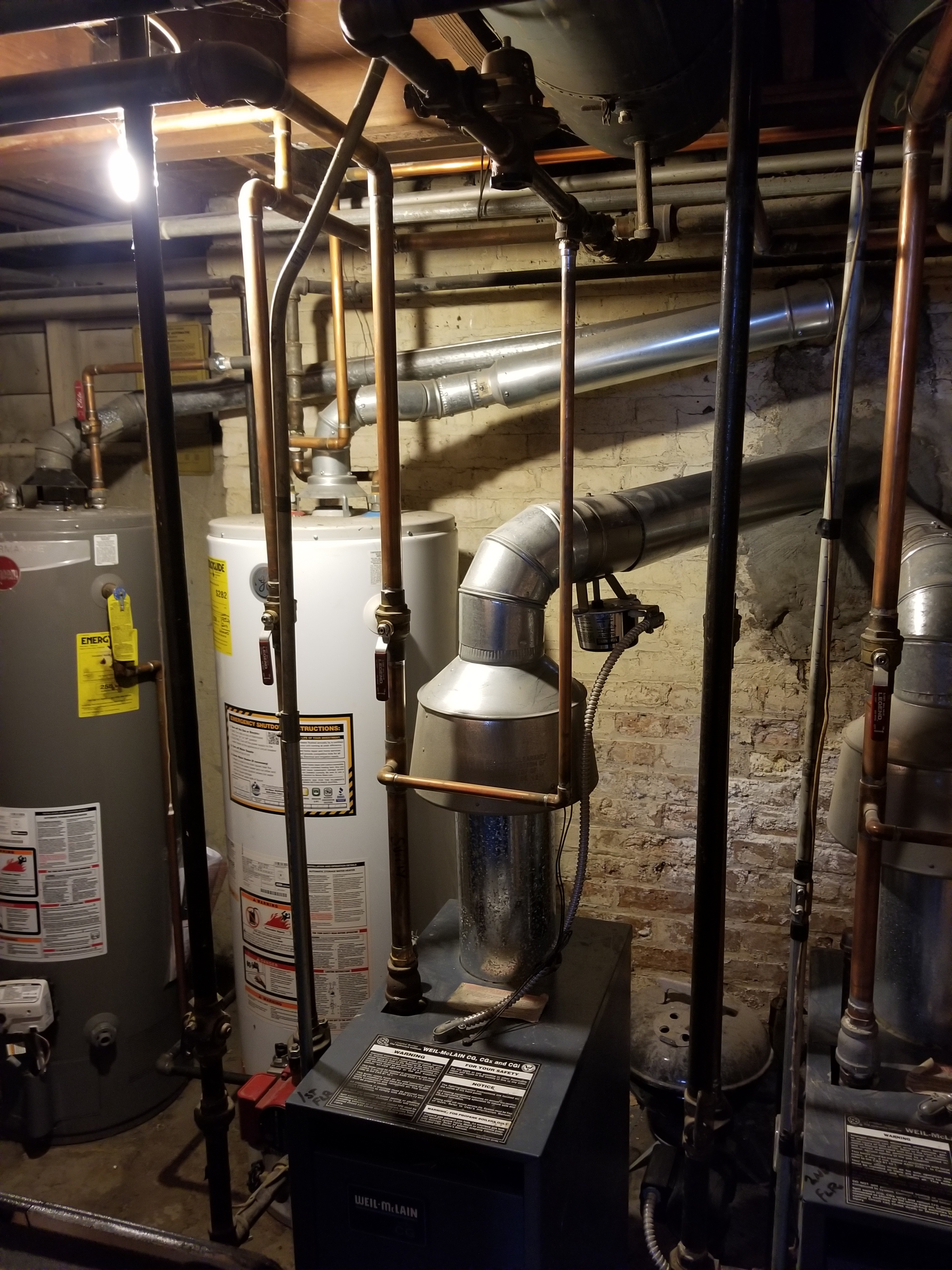 Repaired the Weil-McLain boiler and made adjustments to improve the overall efficiency and life expectancy of the equipment