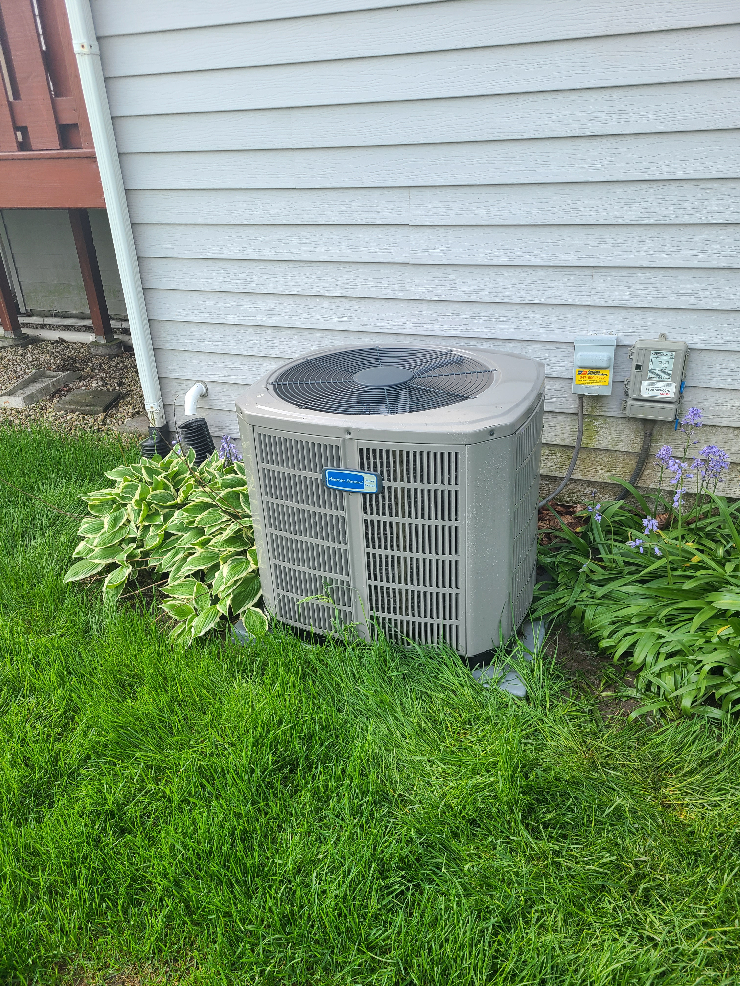 Have confidence in your American Standard air conditioner this summer.