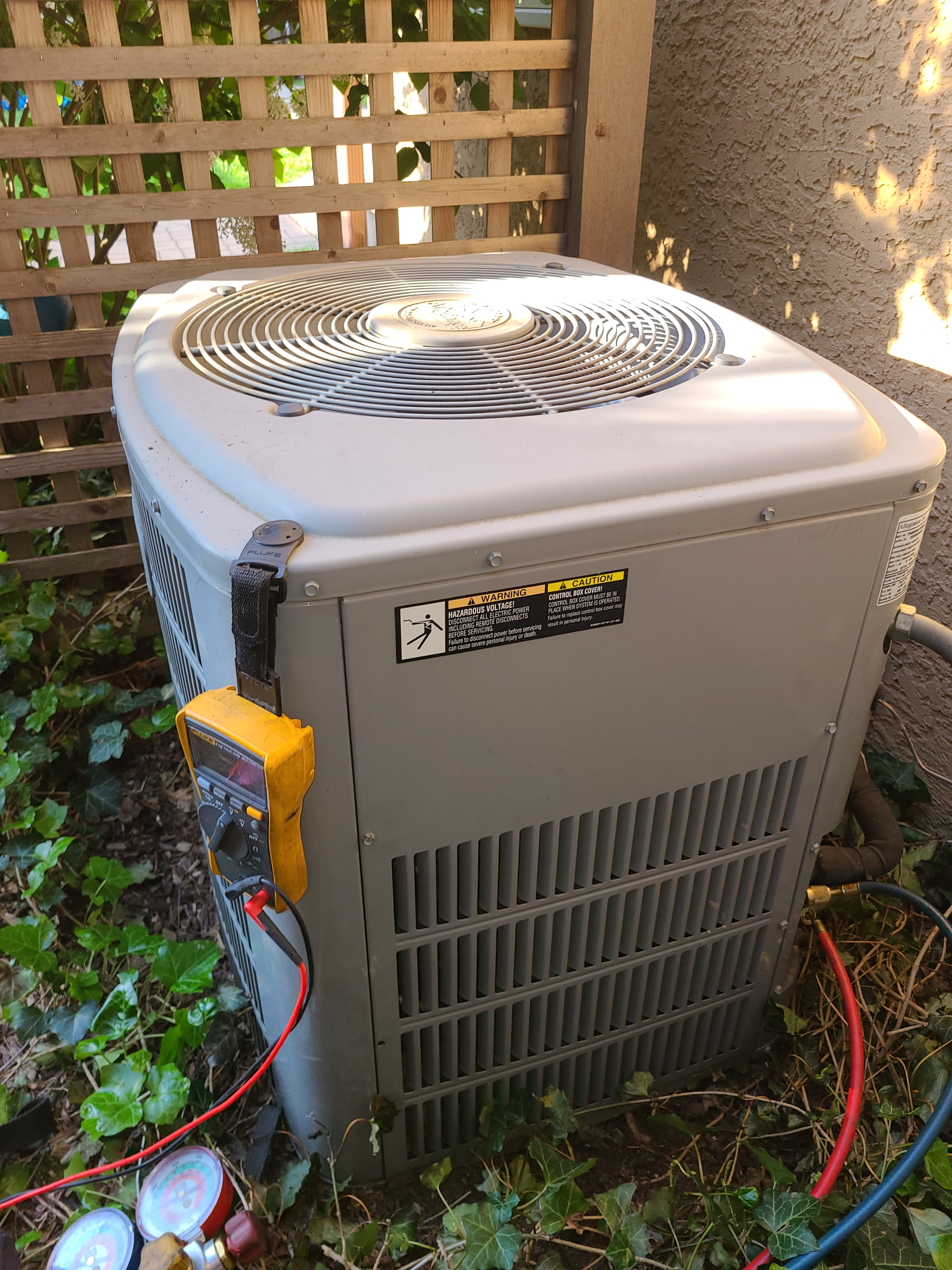 American Standard ac no cooling issue fixes and system operation restored.
