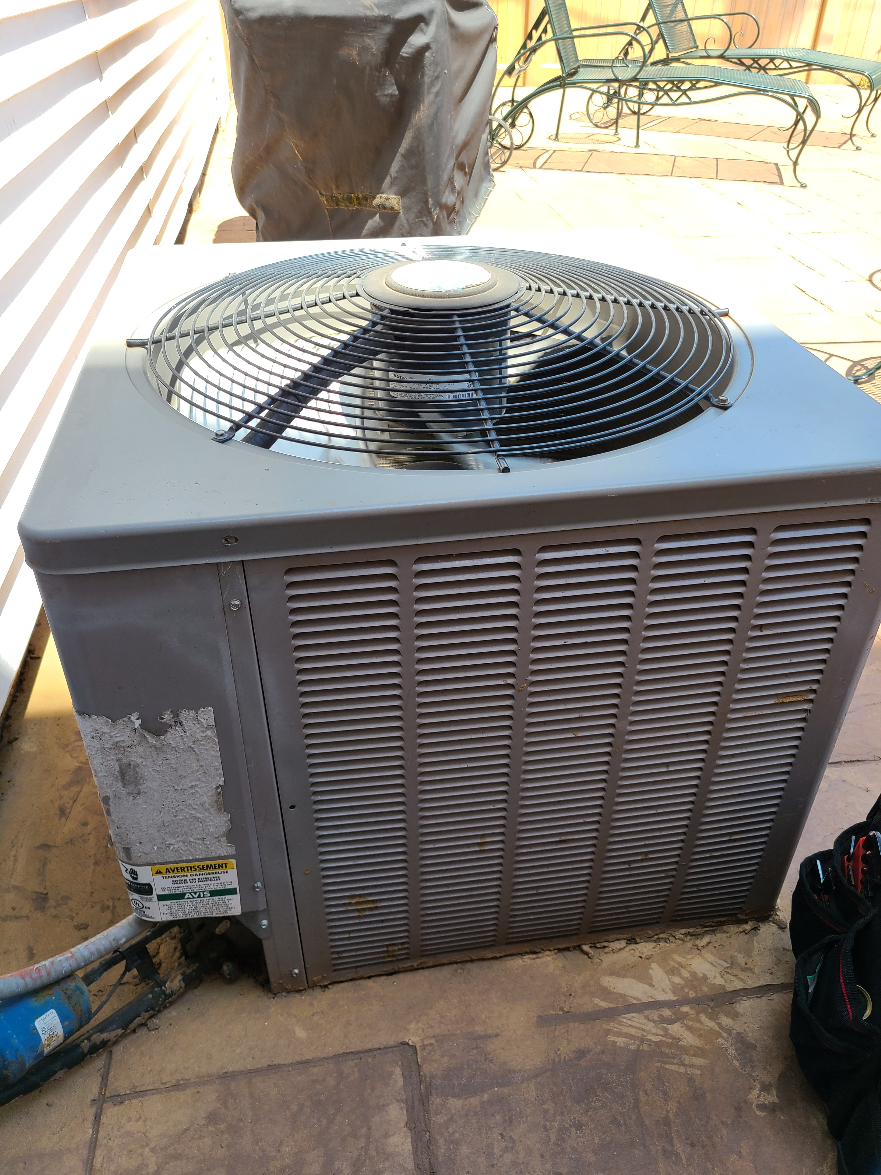 Rheem no cooling issue diagnosed and fixed. Cooling operation restored.