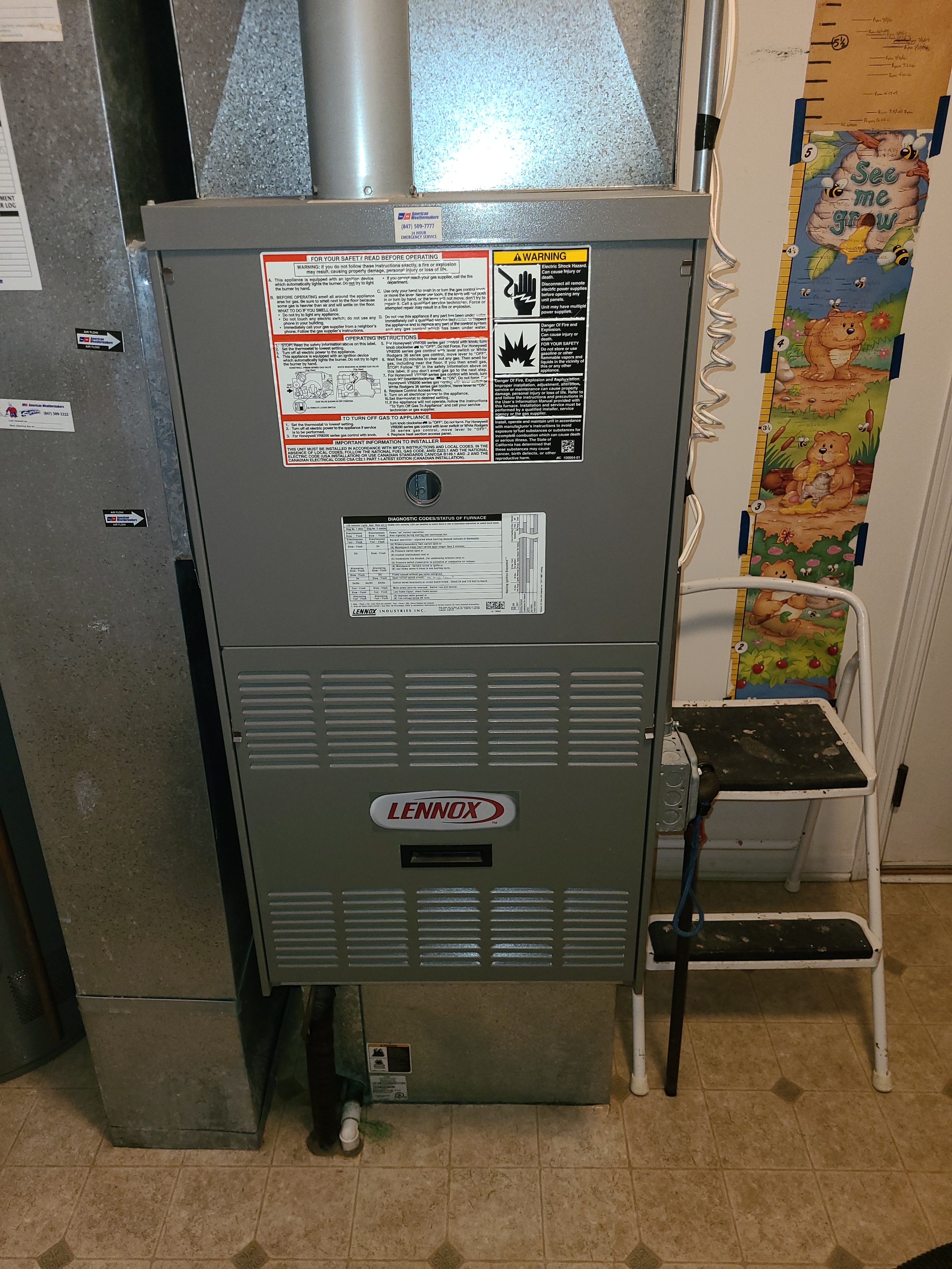 Keep your Lennox running right with a maintenance by American Weathermakers.