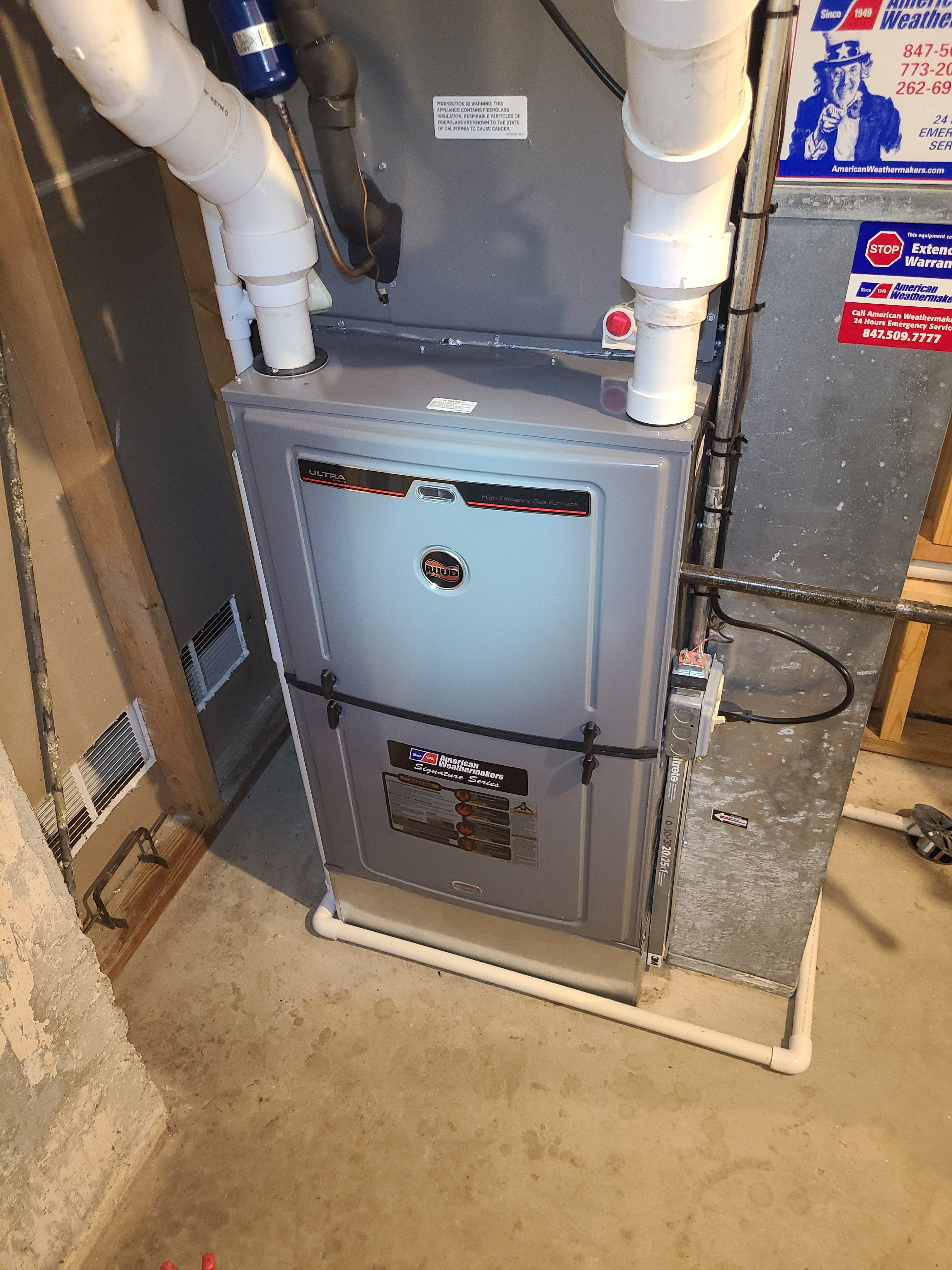 Make sure your Ruud furnace is tuned up and ready for the winter.