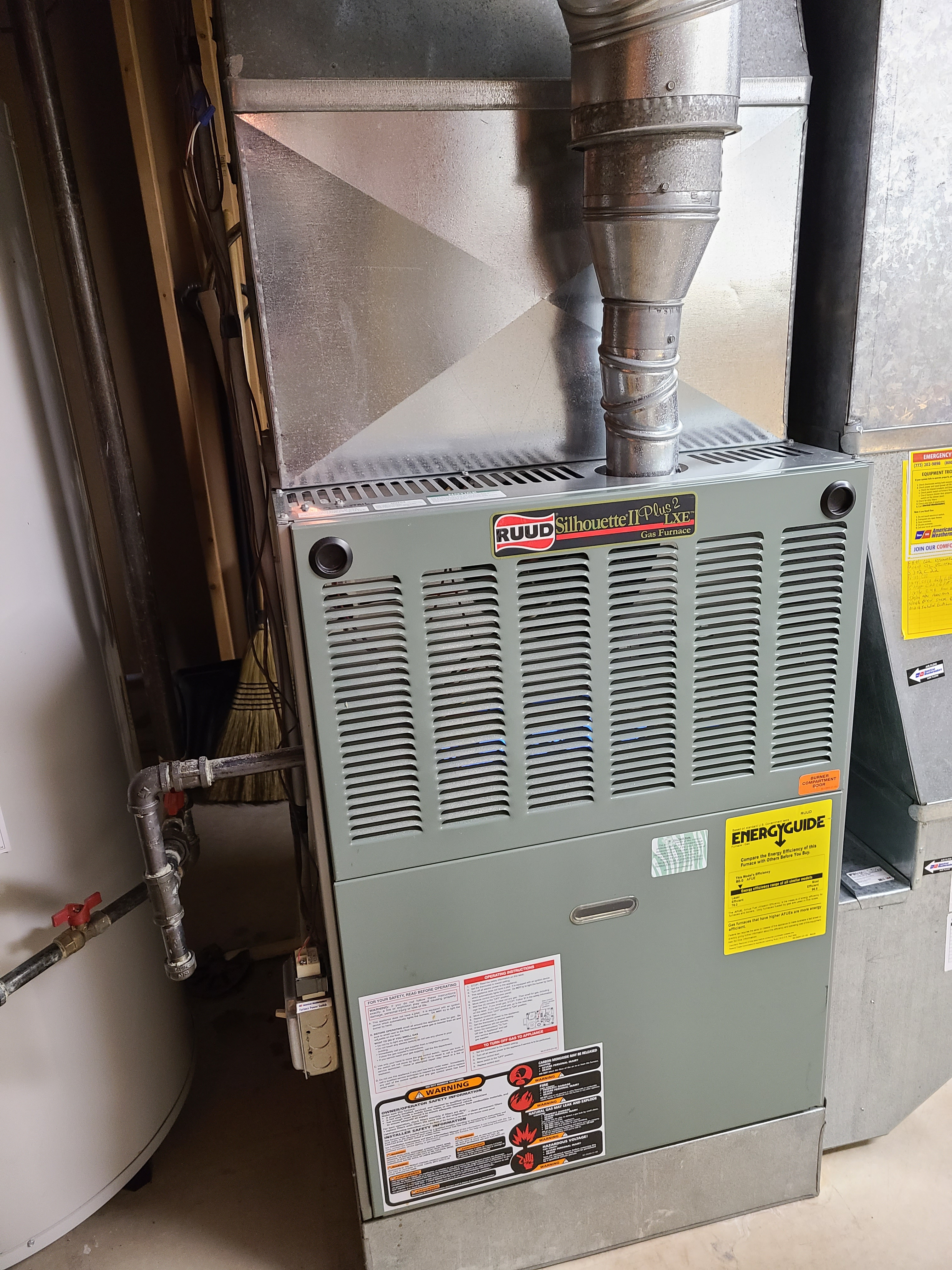 Performed annual maintenance on the Ruud heating system and Aprilaire humidifier. Made adjustments and repairs to improve the efficiency and life expectancy of the equipment.