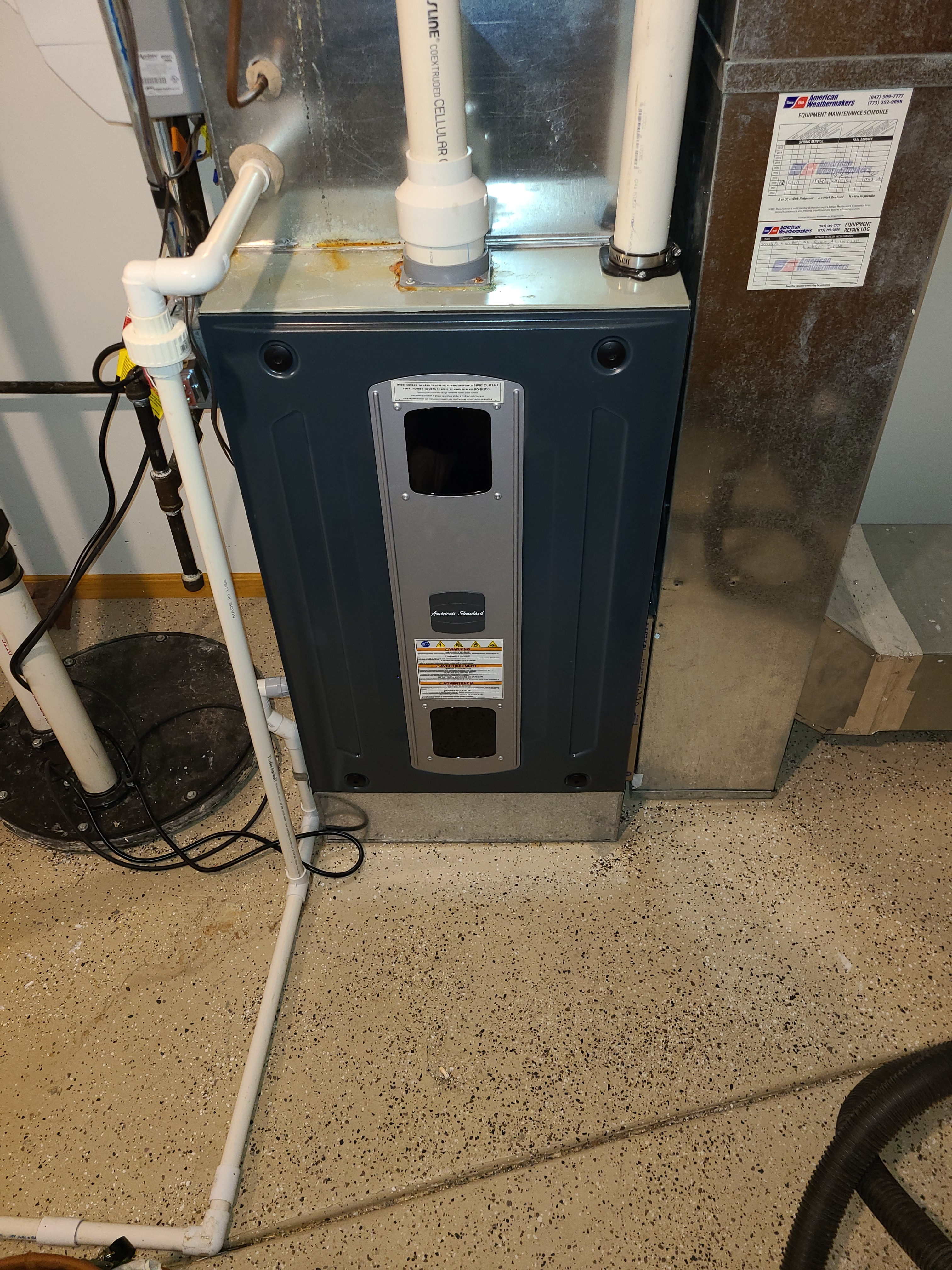 Winter is coming. That means time to get your American Standard furnace cleaned.