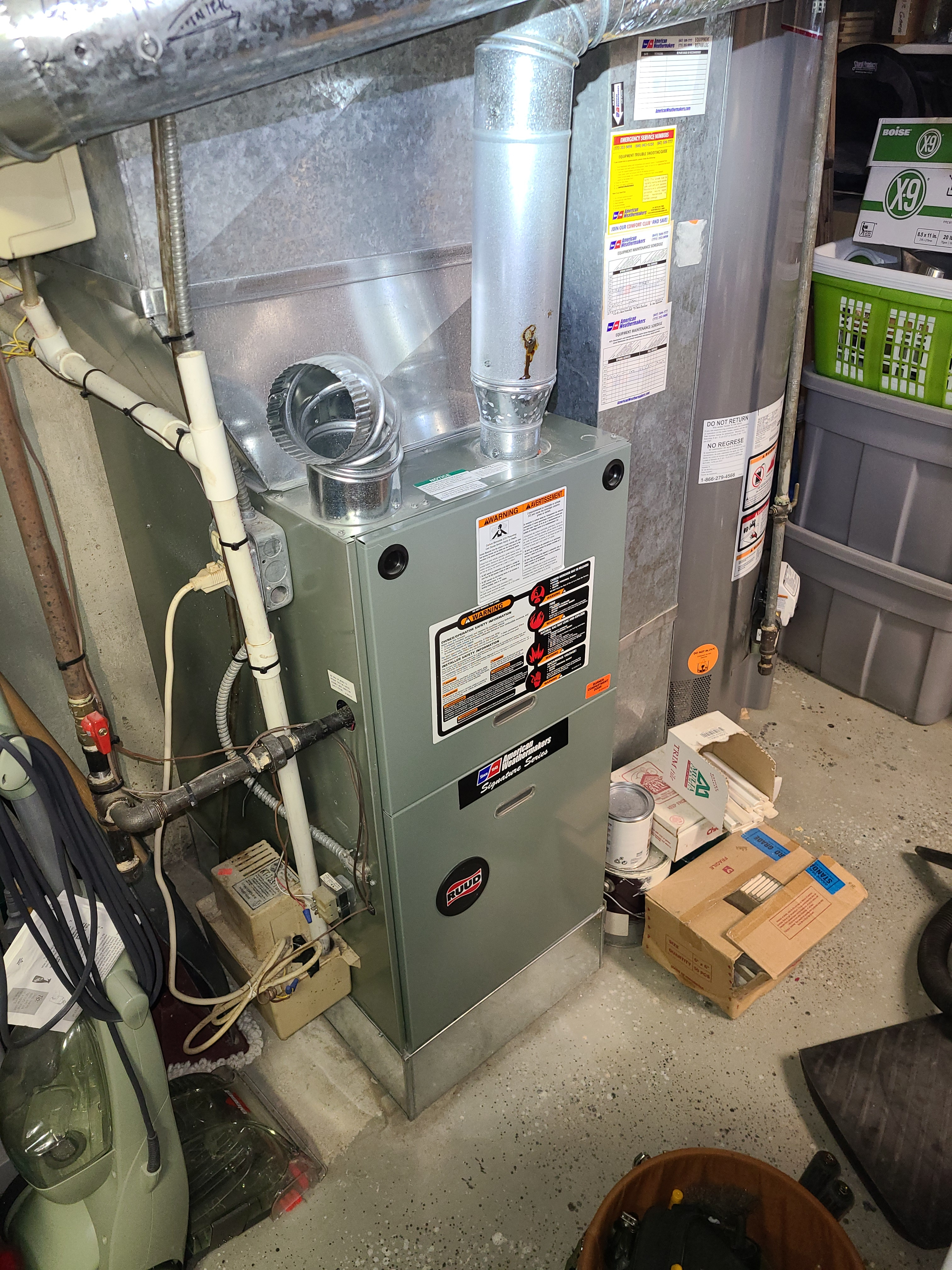 Have your furnace ready for the winter.