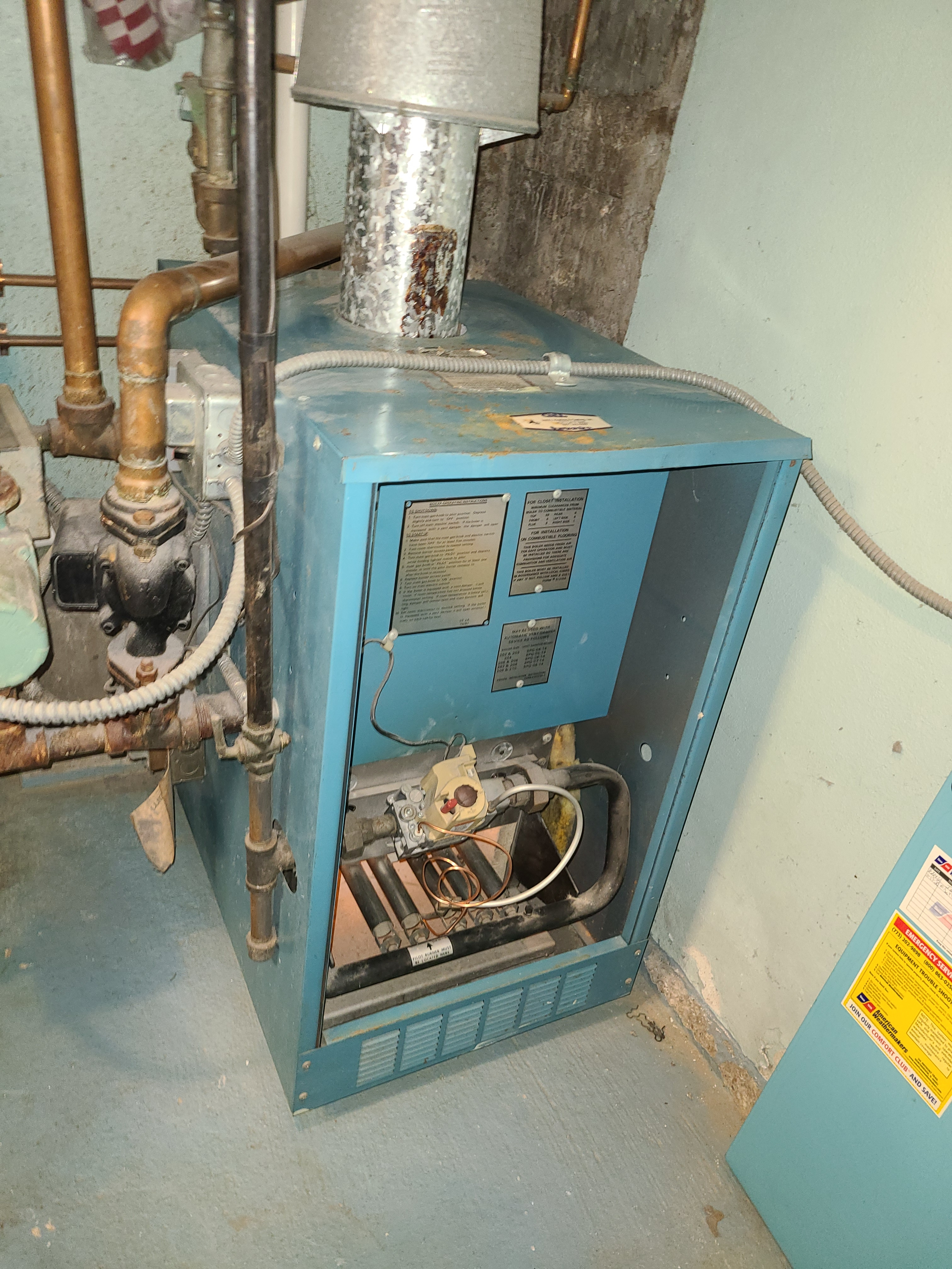 Get your boiler ready for the winter.