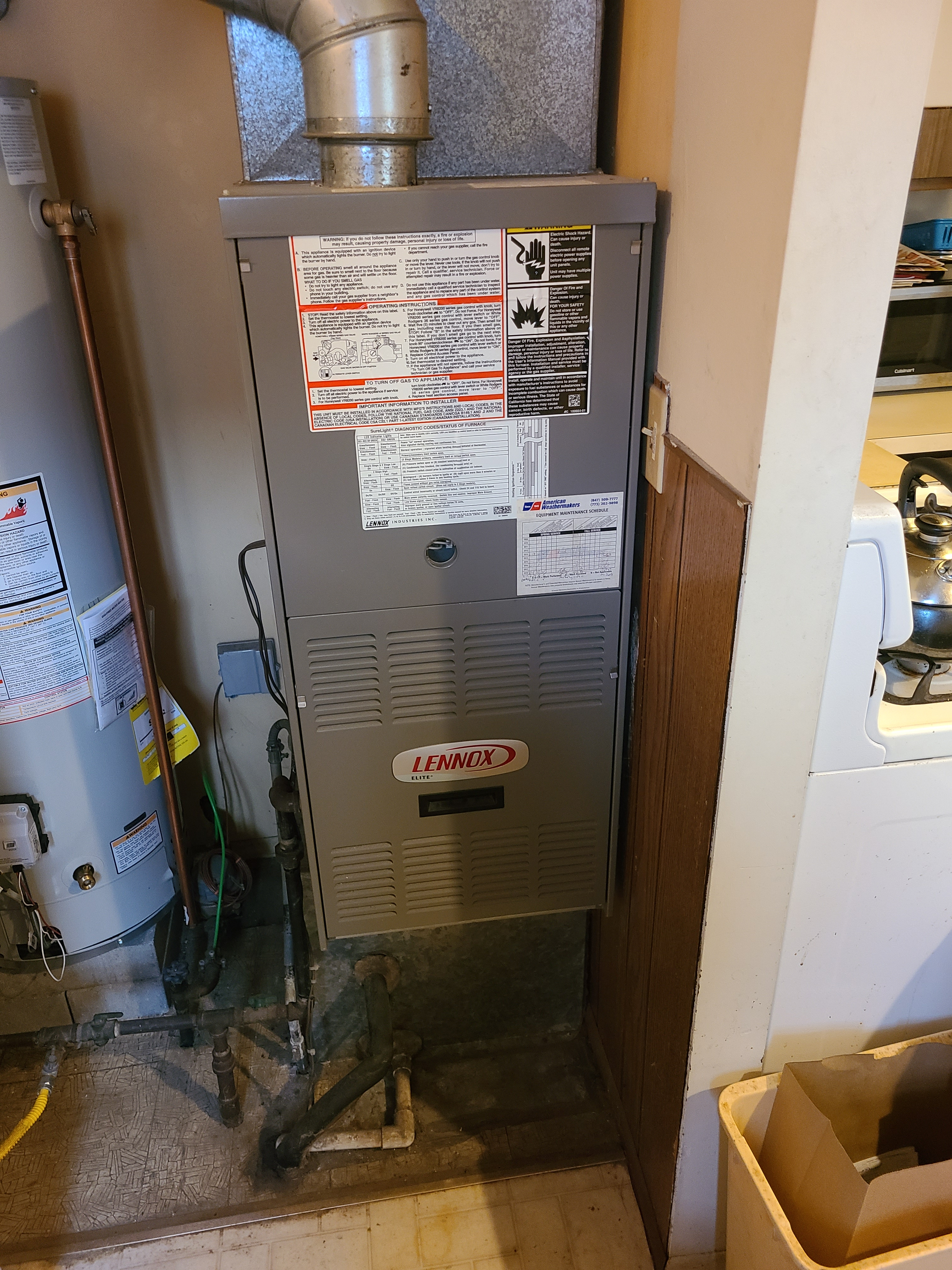 Have your Lennox checked before the winter.