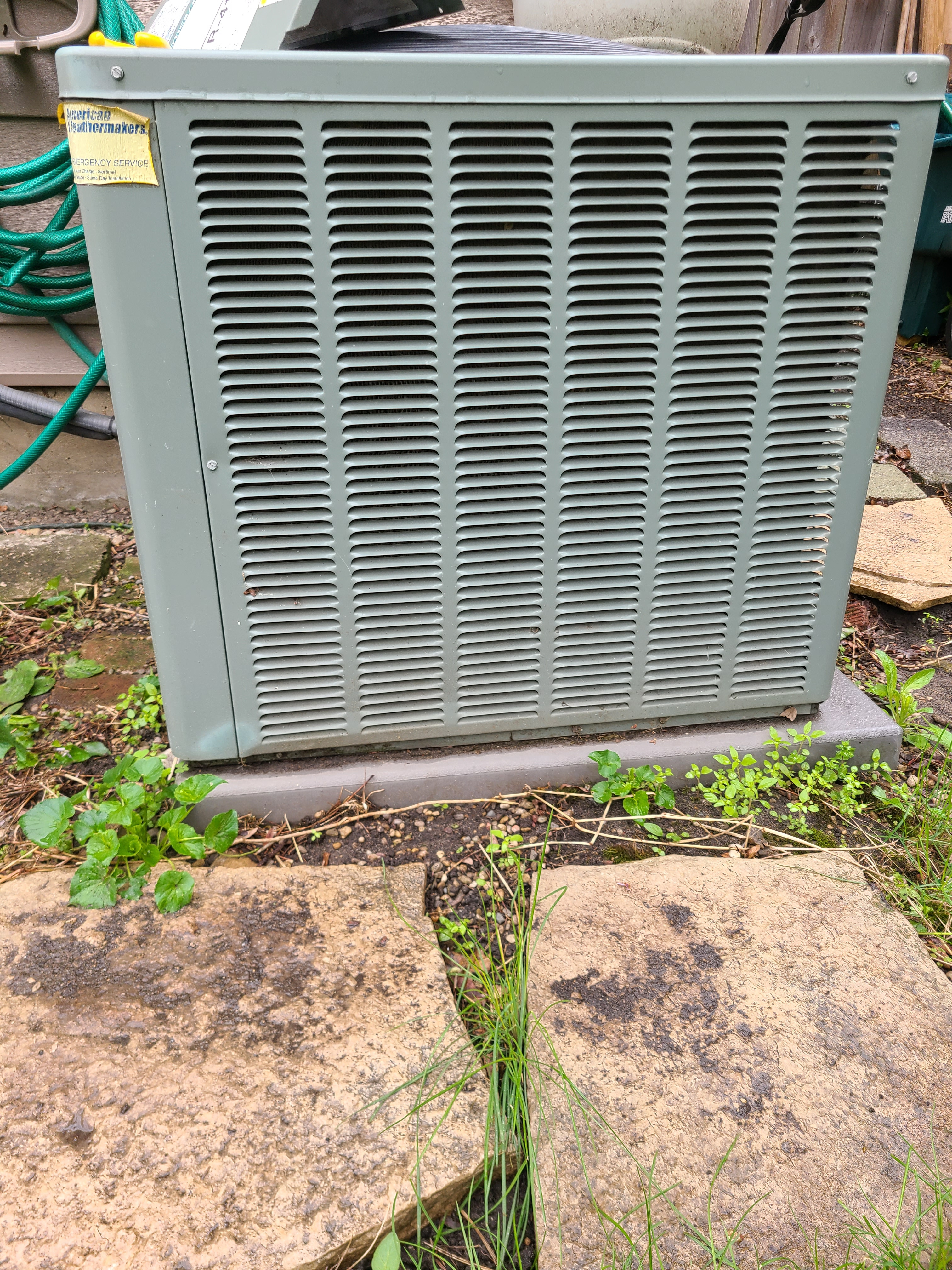 RHEEM 410a system cleaned and ready for spring/ summer operation.