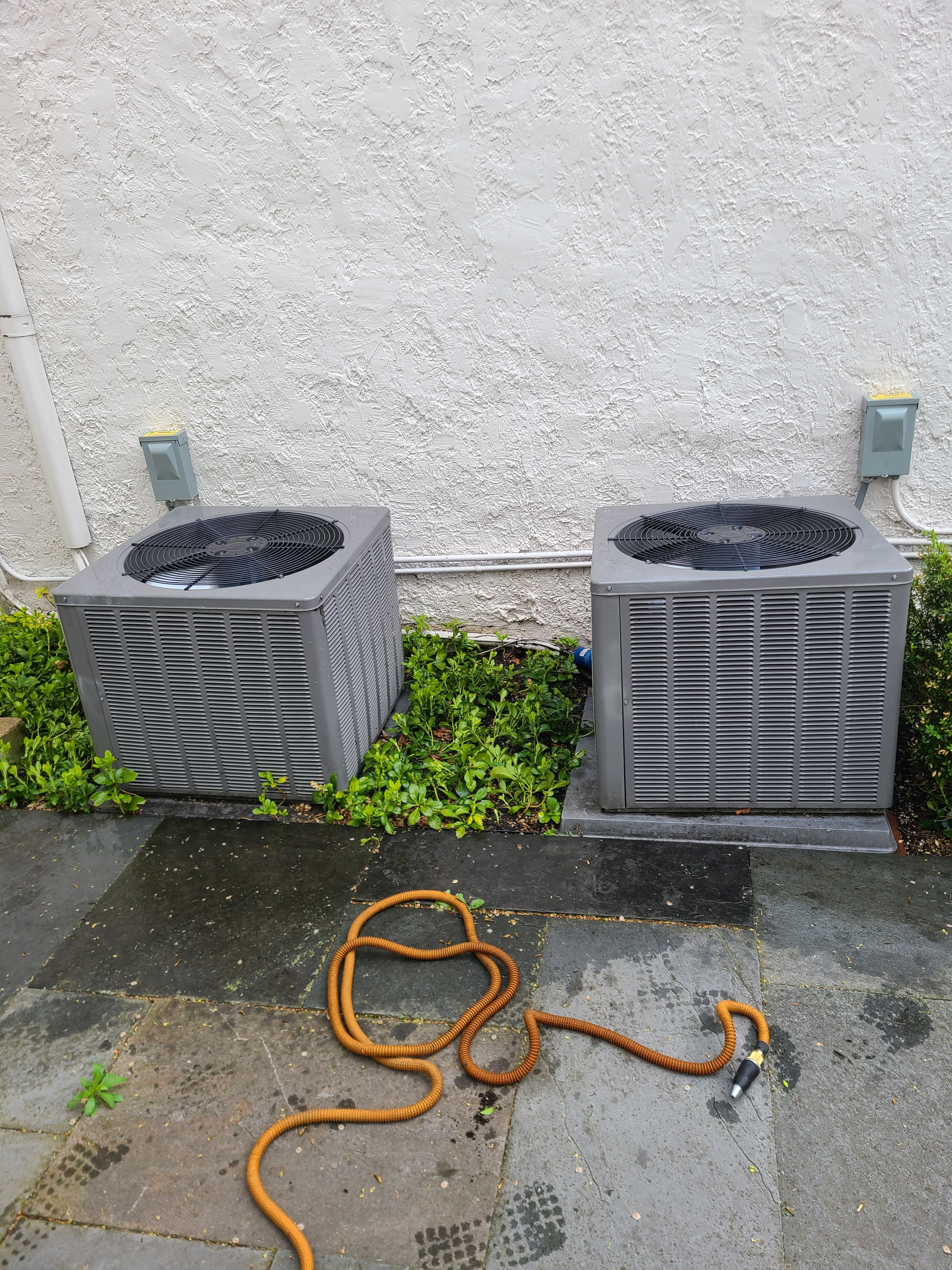 2 RHEEM 410a system checked and cleaned...ready for spring/ summer operation