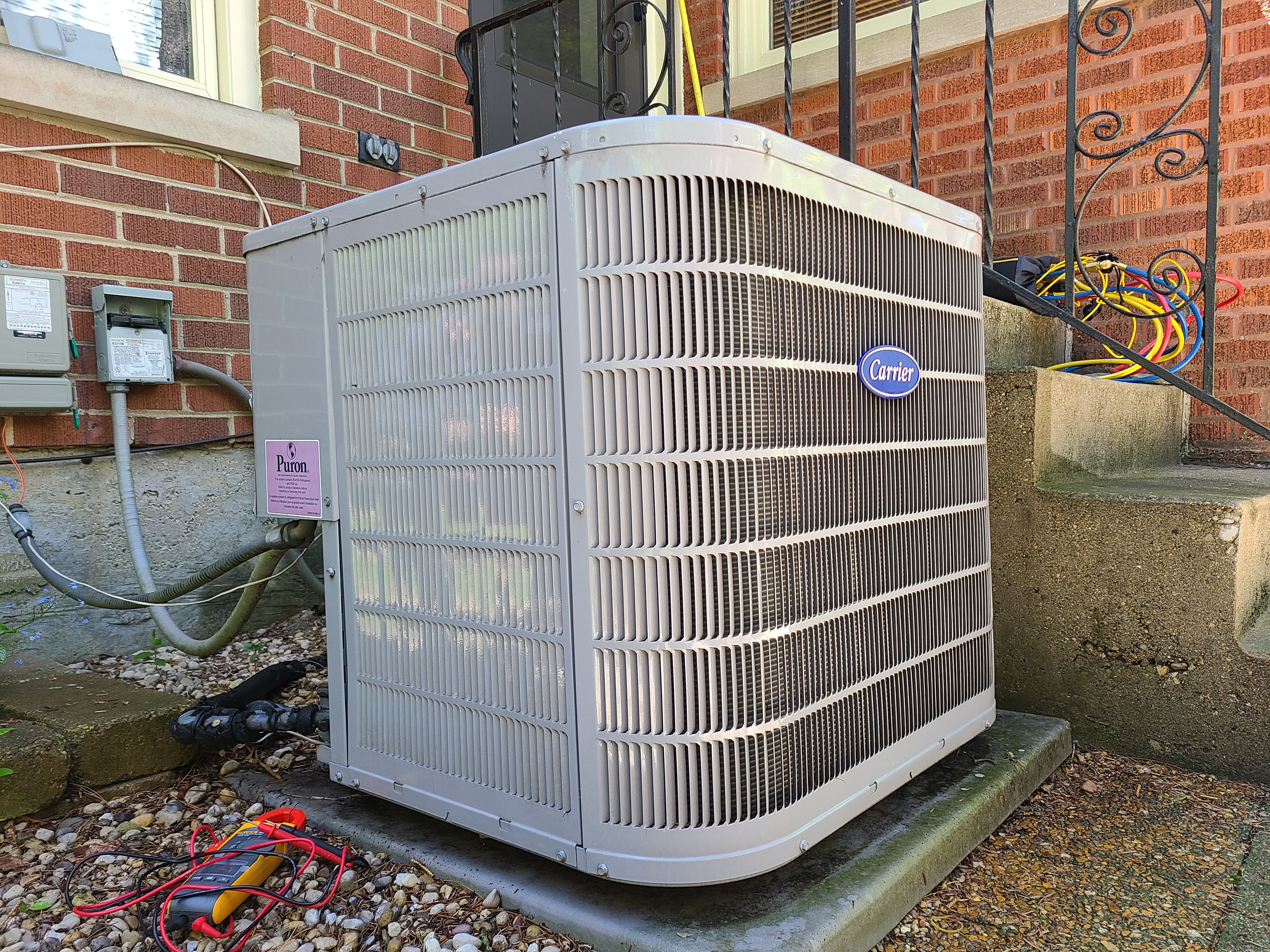Carrier Condenser restored back to service after CTS