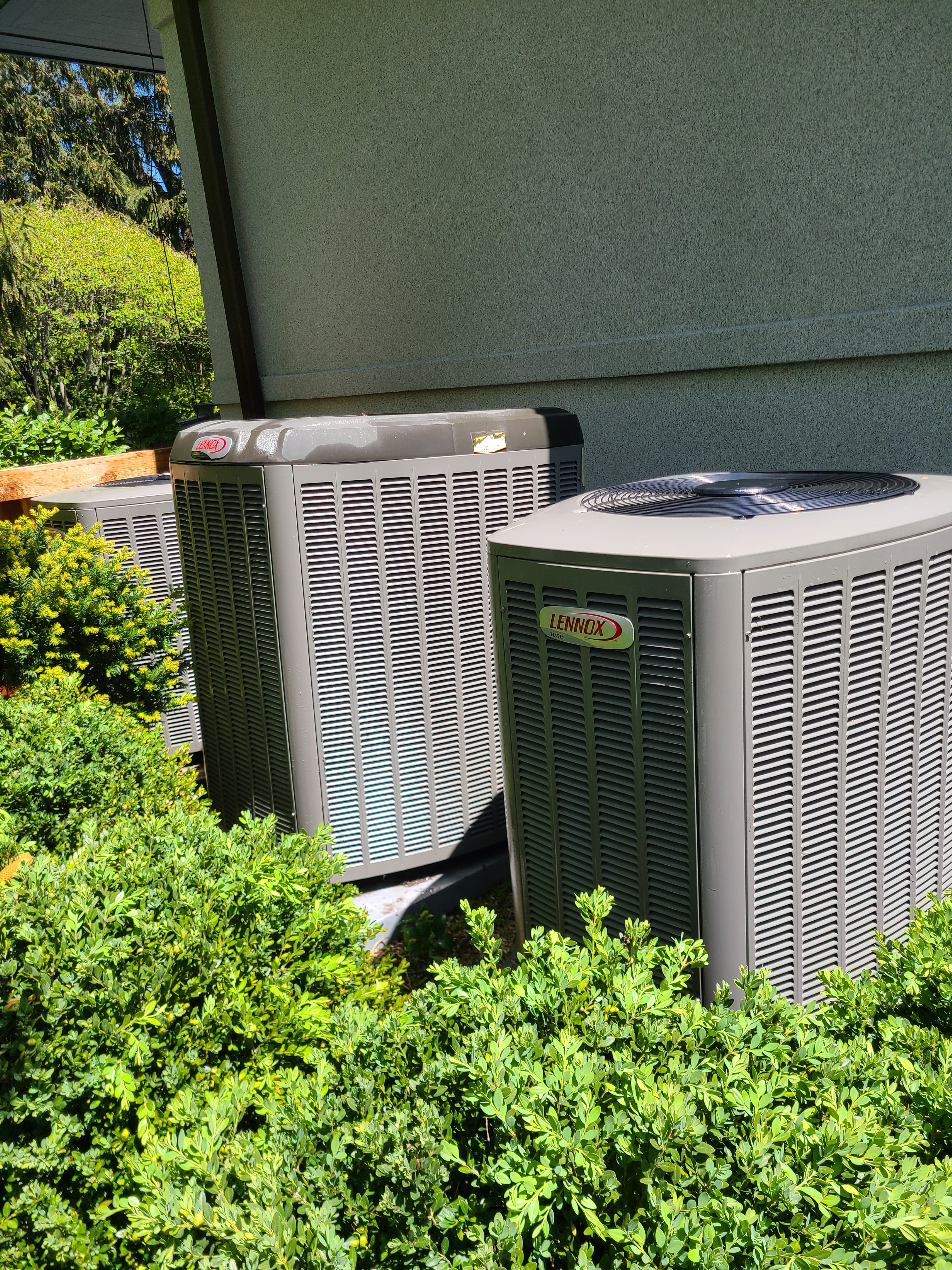 3 Lennox 410a systems cleaned and ready for spring/ summer operation