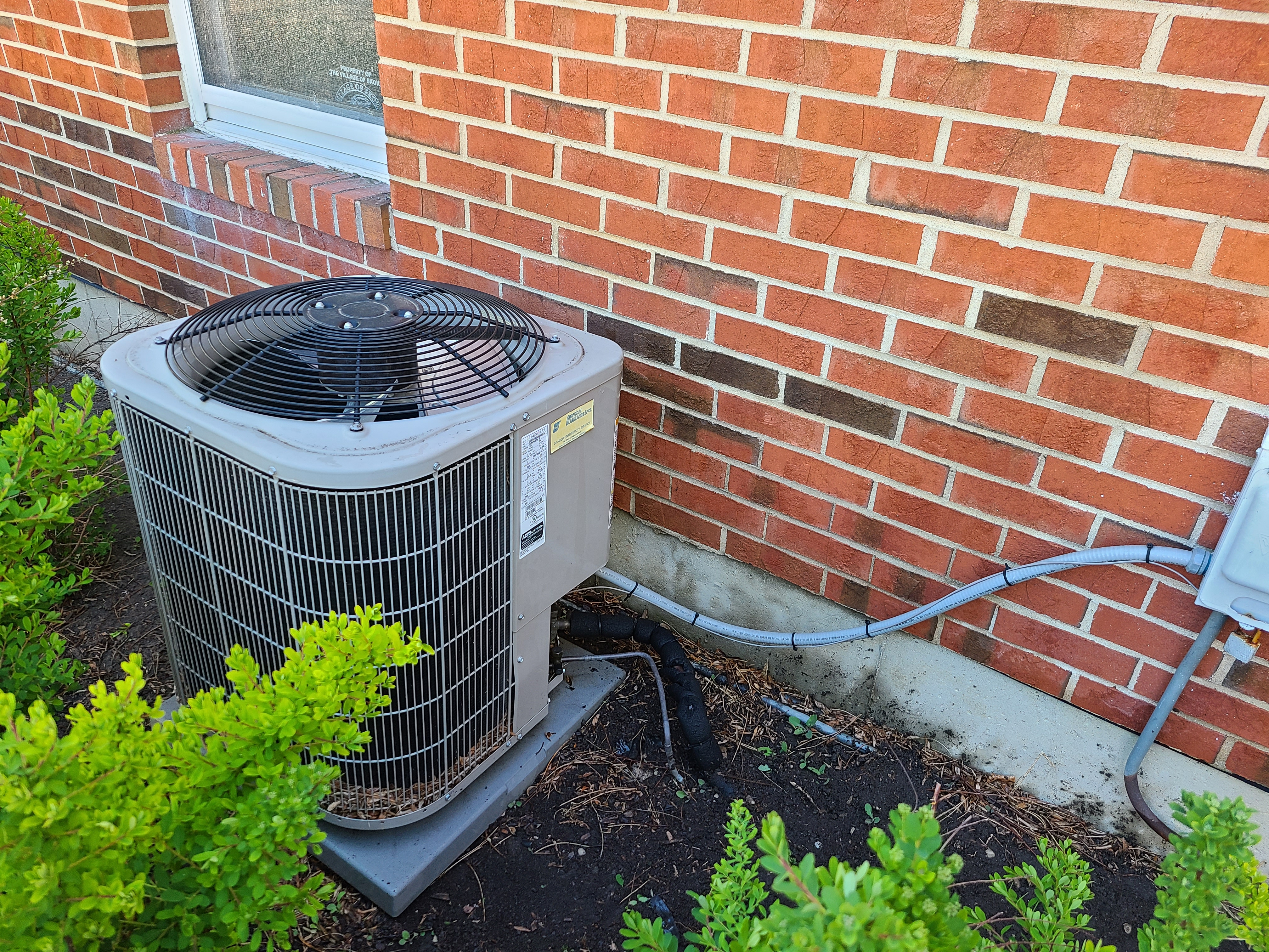 Bryant condenser after CTS