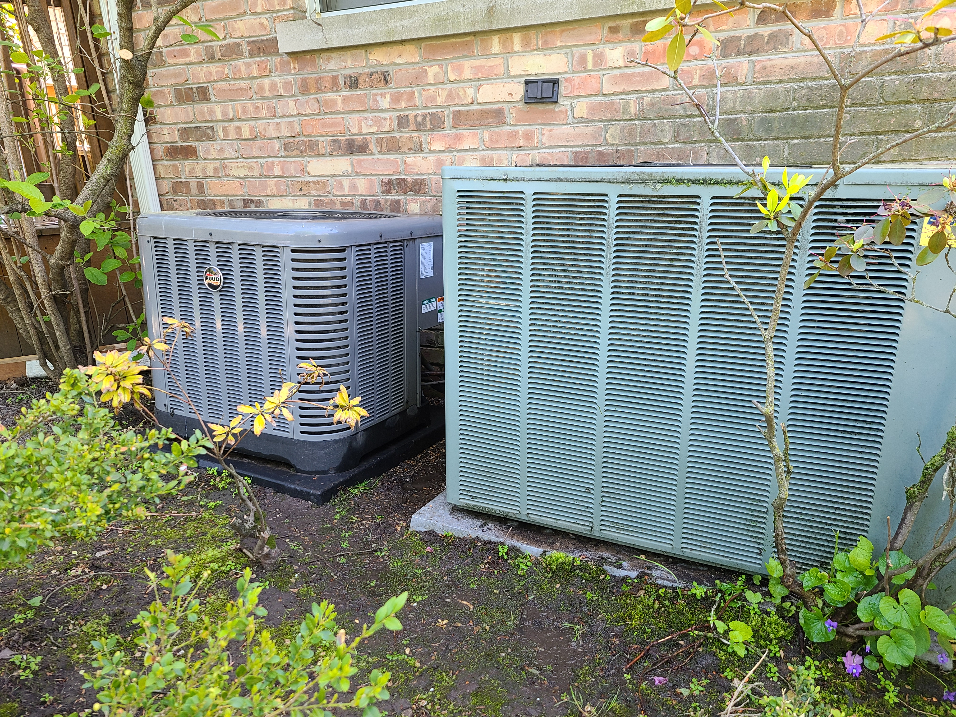 Two ruud condensers cleaned after Cts.