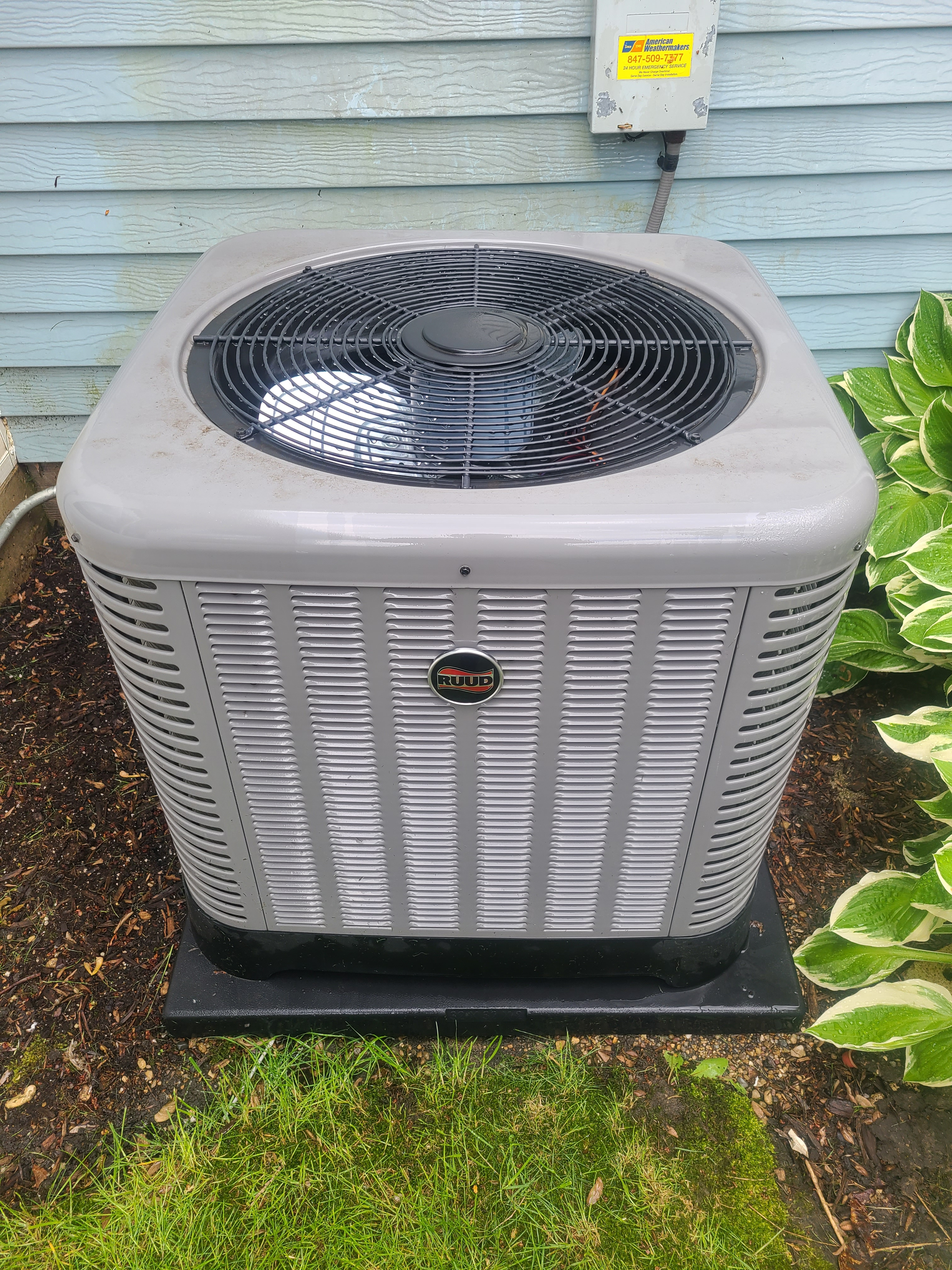Ruud air conditioning maintenance for Comfort Club.