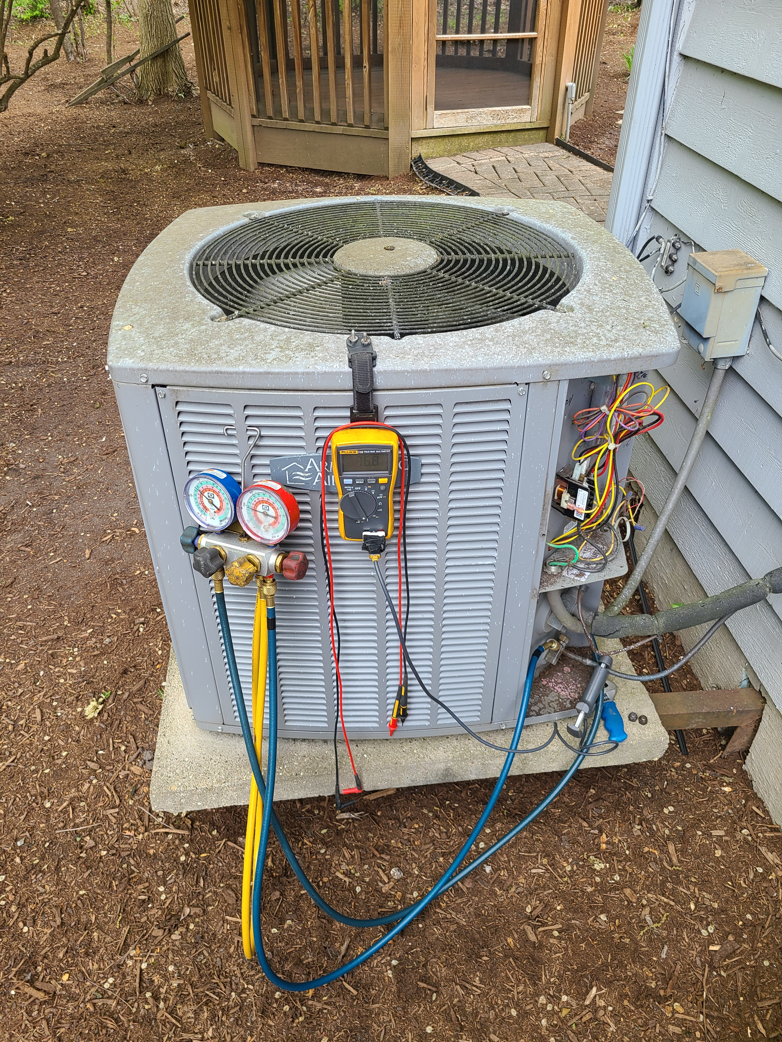 Armstrong air spring ac tune up. System cleaned and checked and ready for summer.