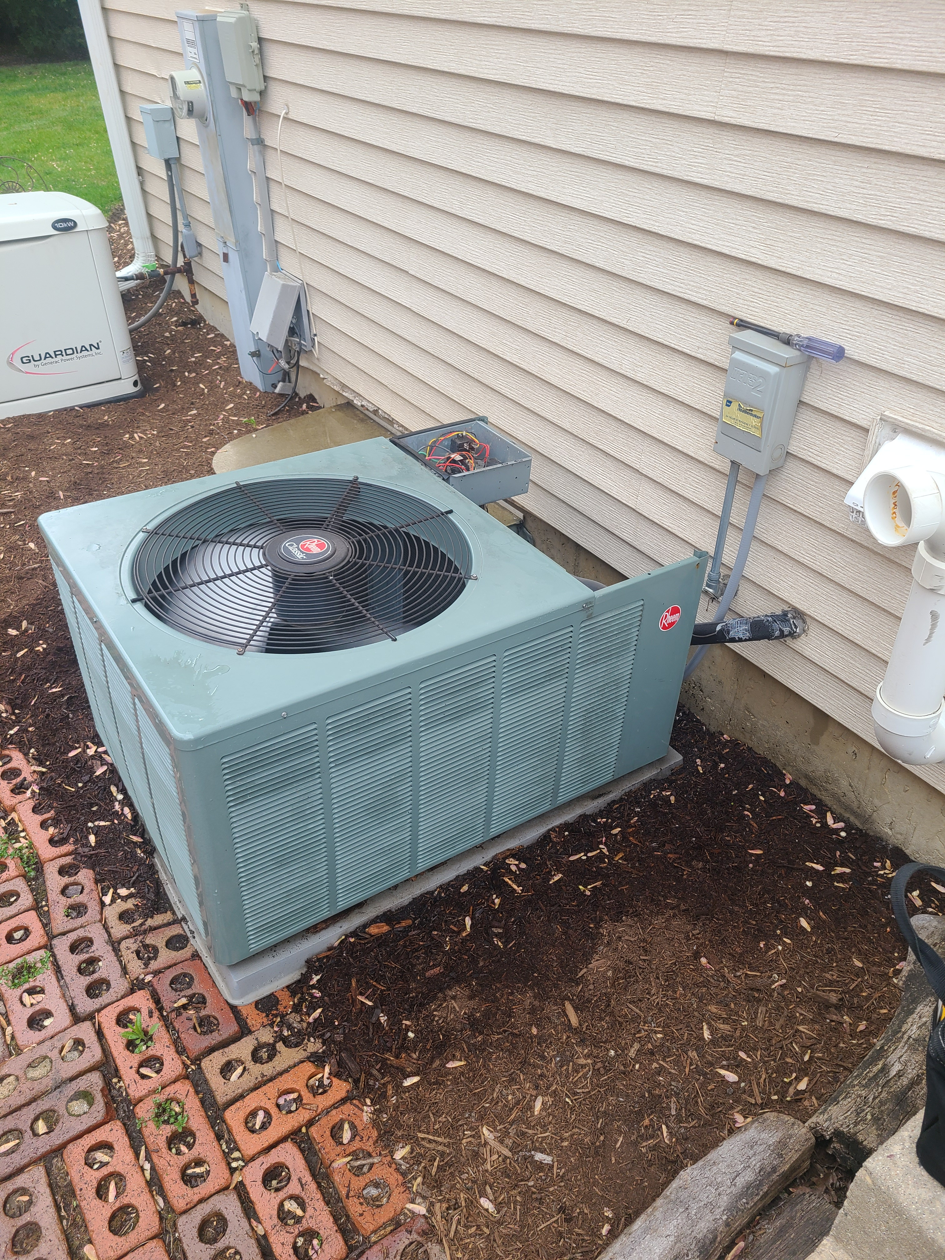 Ac maintenance on RHEEM R410A system In Mt prospect time to get ac systems maintained